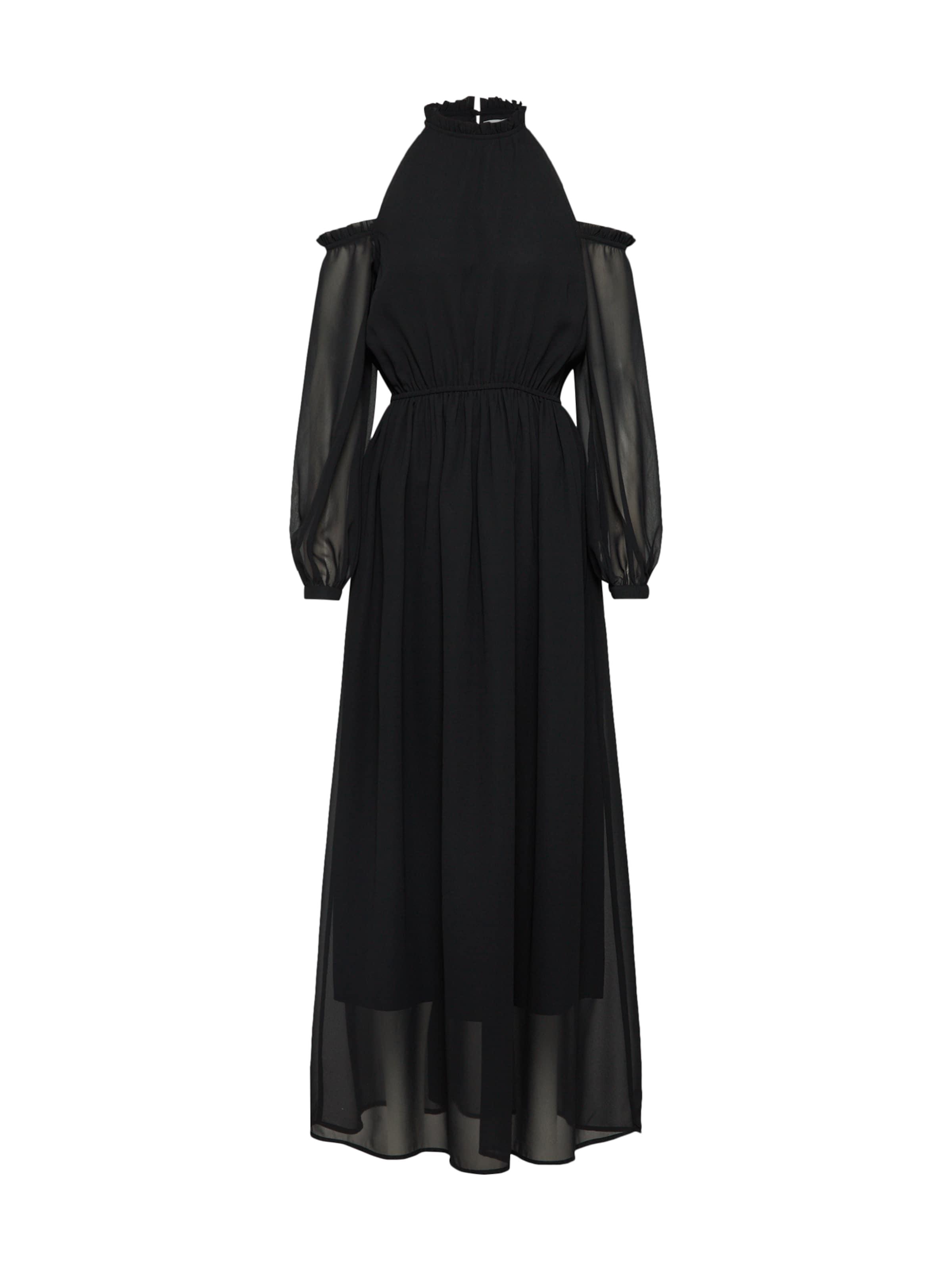 Maxi En kd 'cold Noir Na Chiffon Shoulder Robe Dress' pLGSUVqMz
