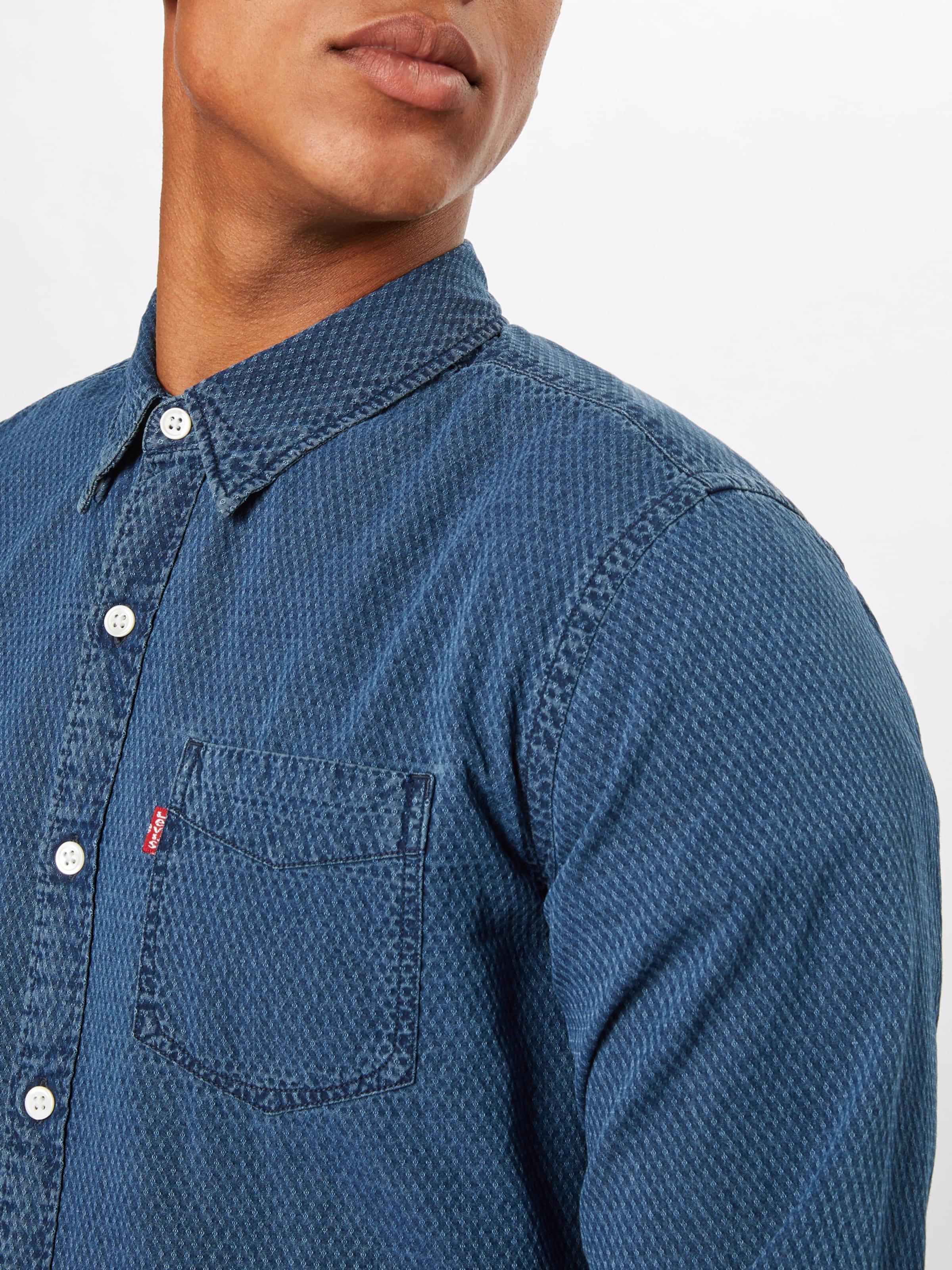 'sunset1pocketshirt' Bleu Chemise Levi's En Denim LSUVpqMGz