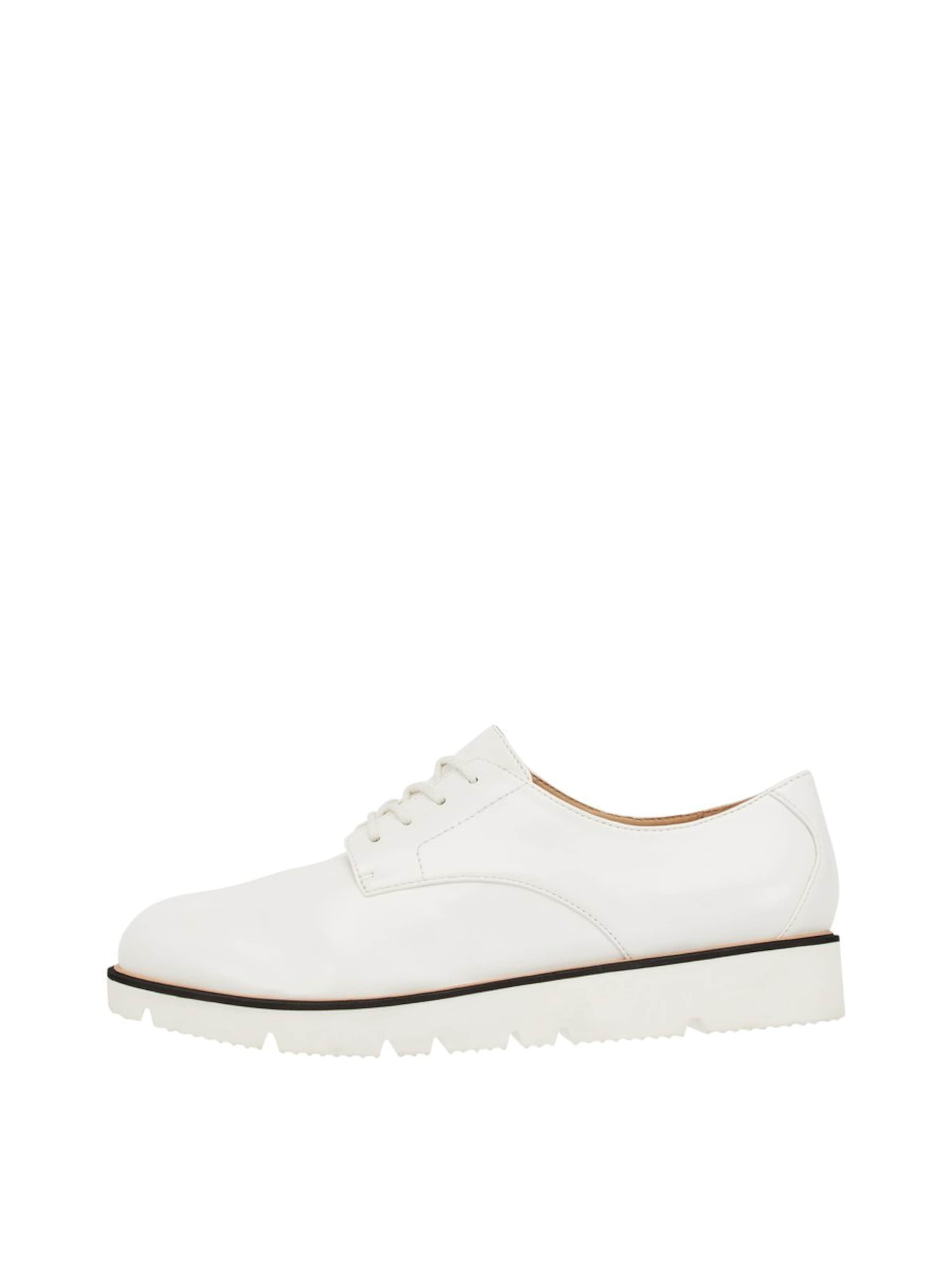 NoirBlanc À Lacets En 'bita' Bianco Chaussure qSUGzMLVp