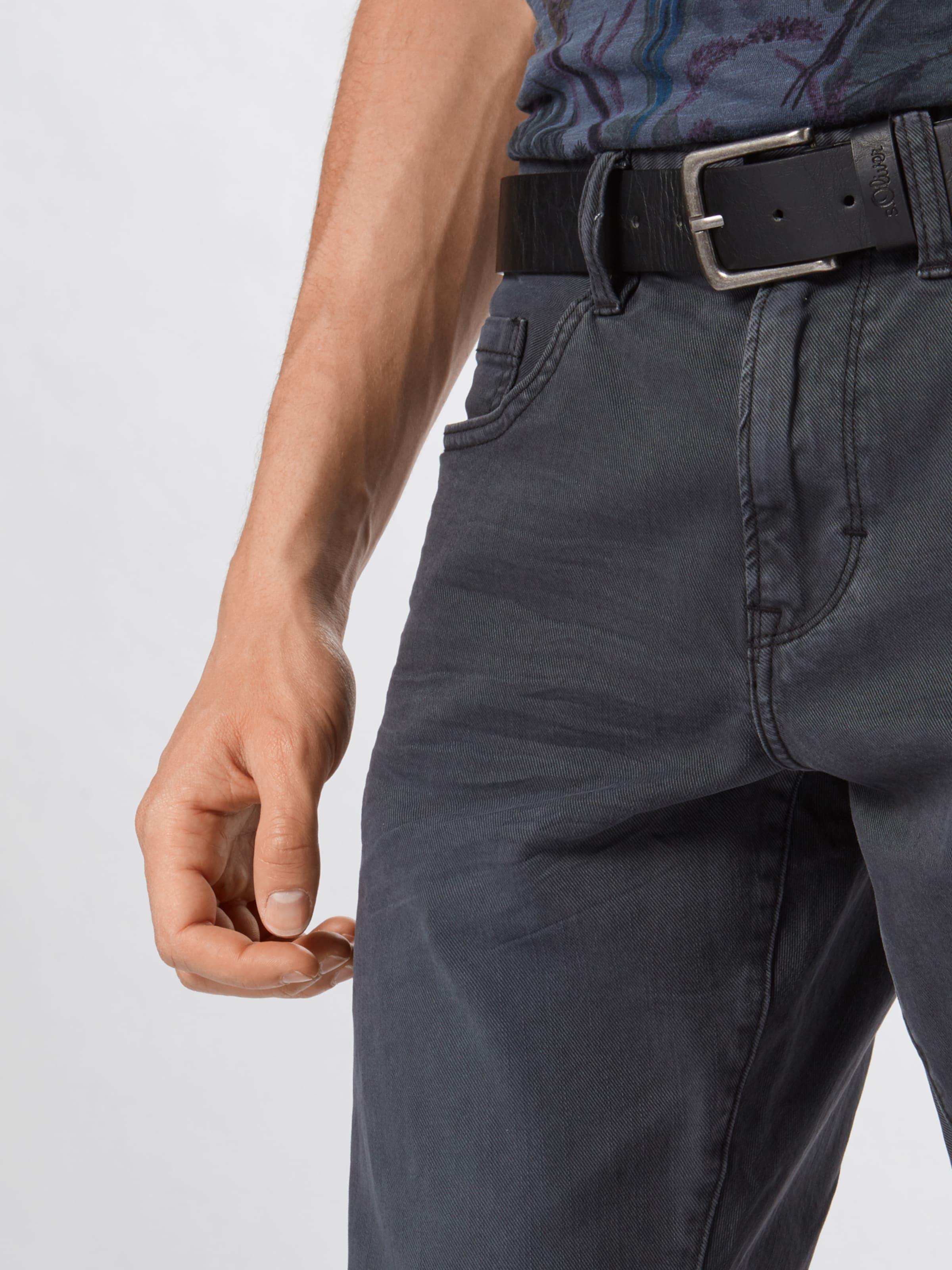 Label S Jean oliver Red 'pants En Slim' Denim Gris MzVGqUSp