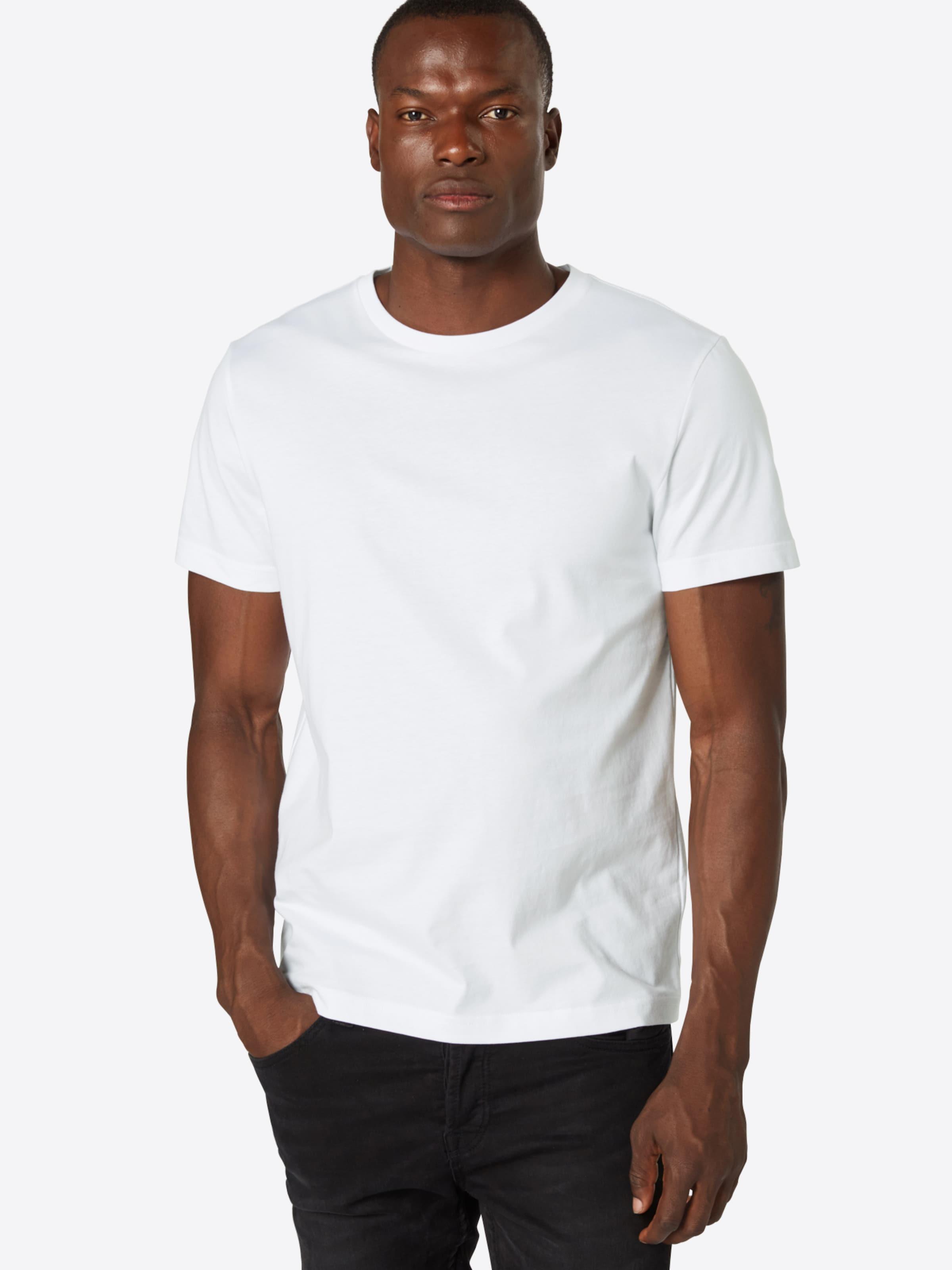 'authentic Republic Crew' T Banana Blanc shirt En zUSpMV