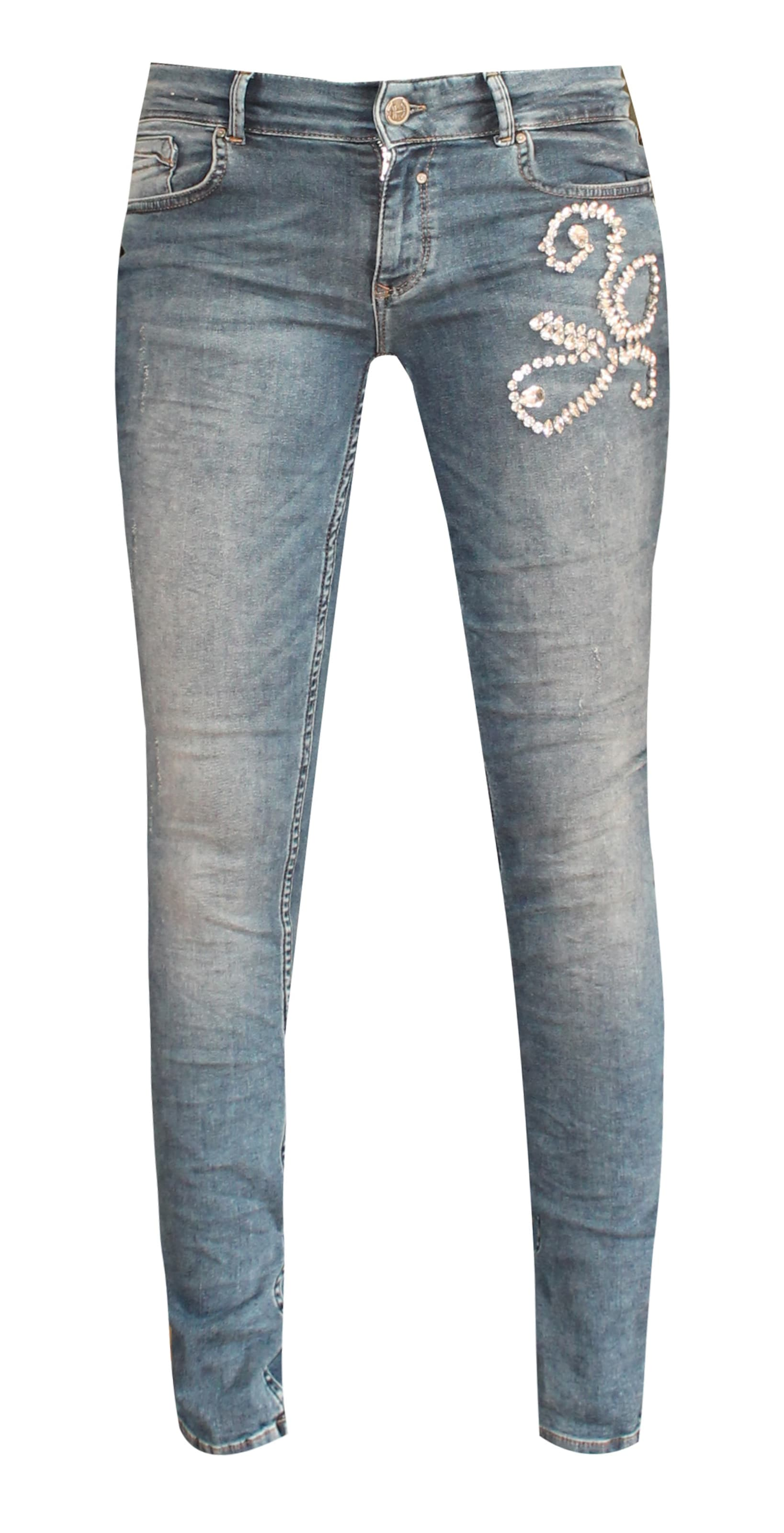 Hose 'curly' Denim In Blue Coccara wNn0vm8