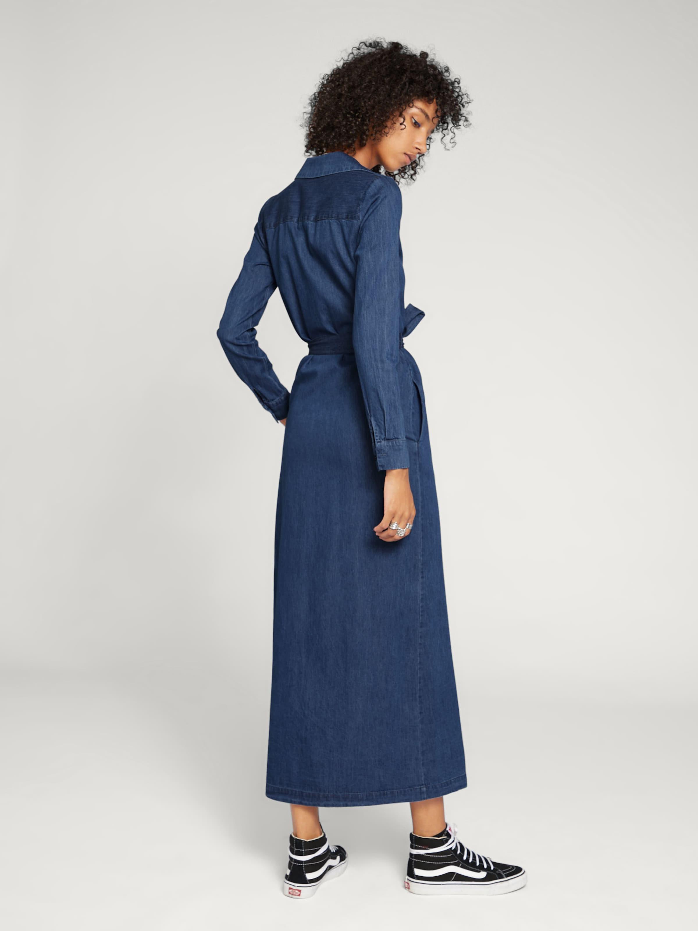 'joy' Robe En Foncé chemise Edited Bleu Y6ybgvf7I