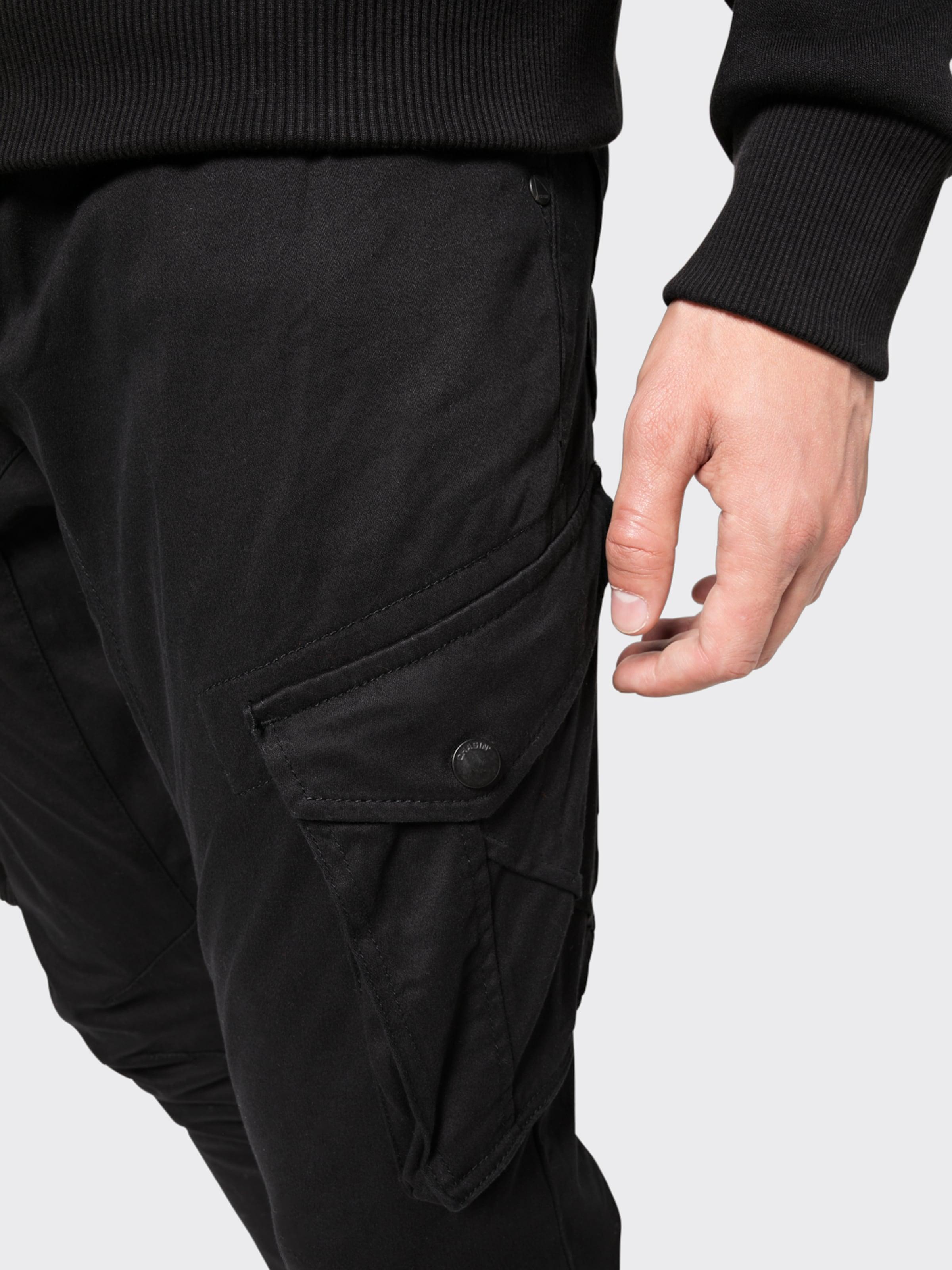 Chasin' Cargo En Ford' Pantalon Noir 'fraser l qMzGUSVp