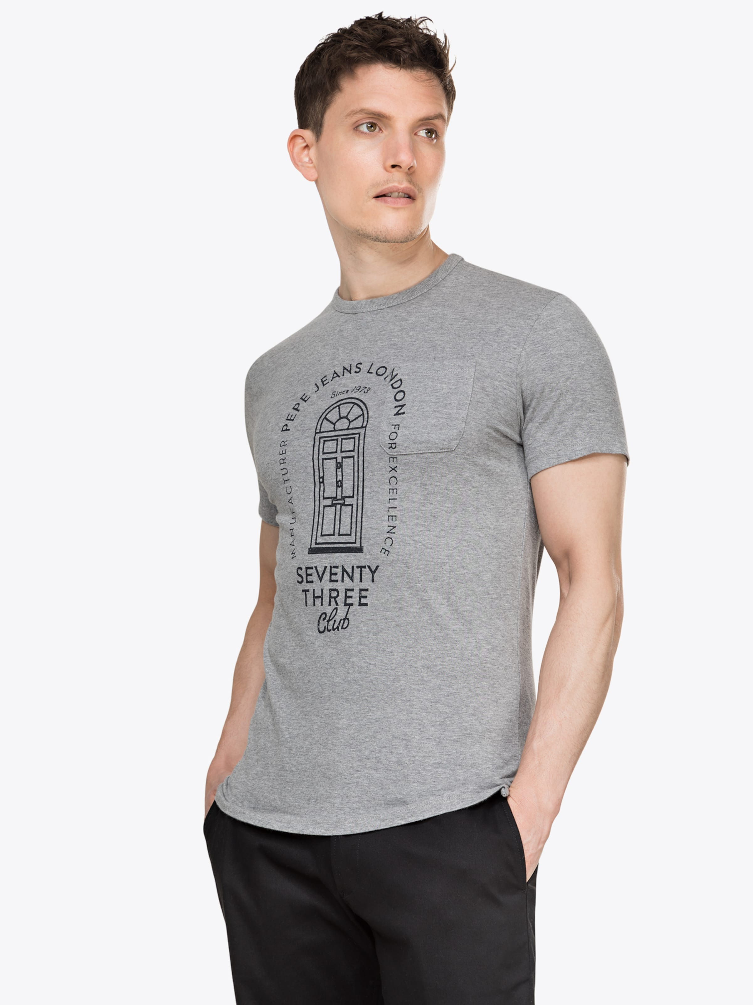 Pepe 'willy' shirt T En Jeans Gris rdtsQhC
