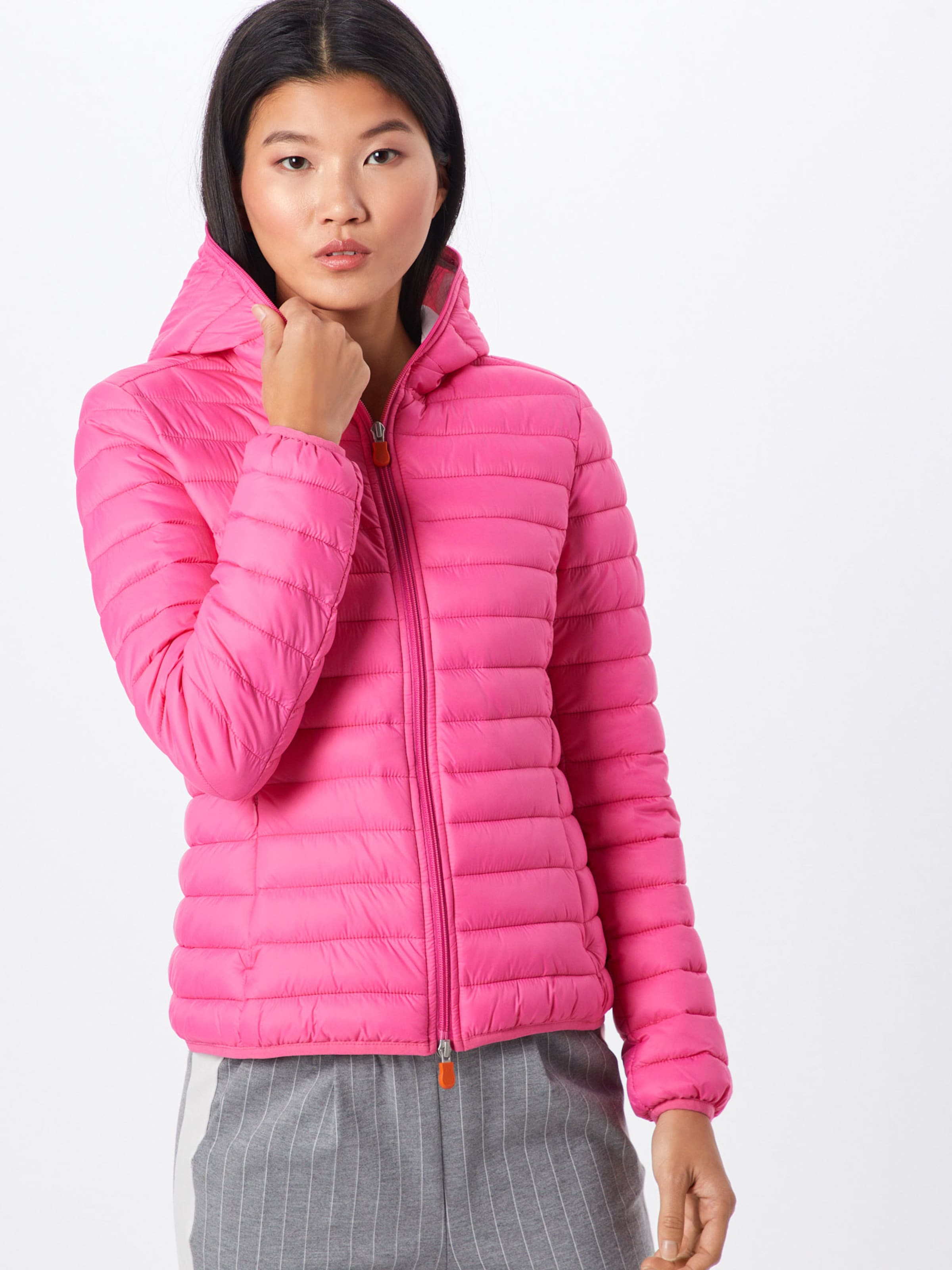 Duck Pink The In Jacke Save 'giubbotto Cappuccio' EH2WD9I