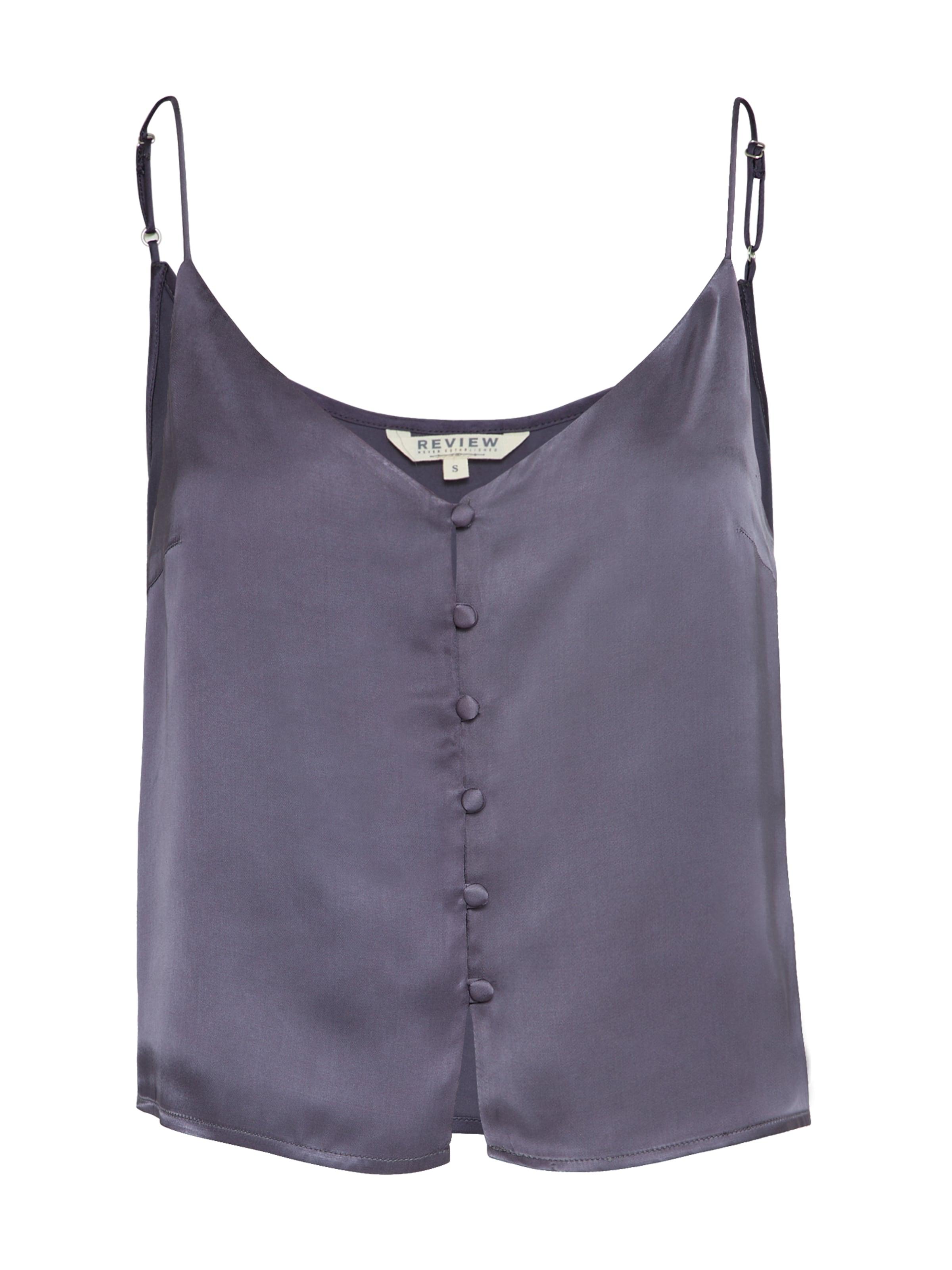 Review En 'button Violet Camisole' Bleu Haut nPN80OkXw