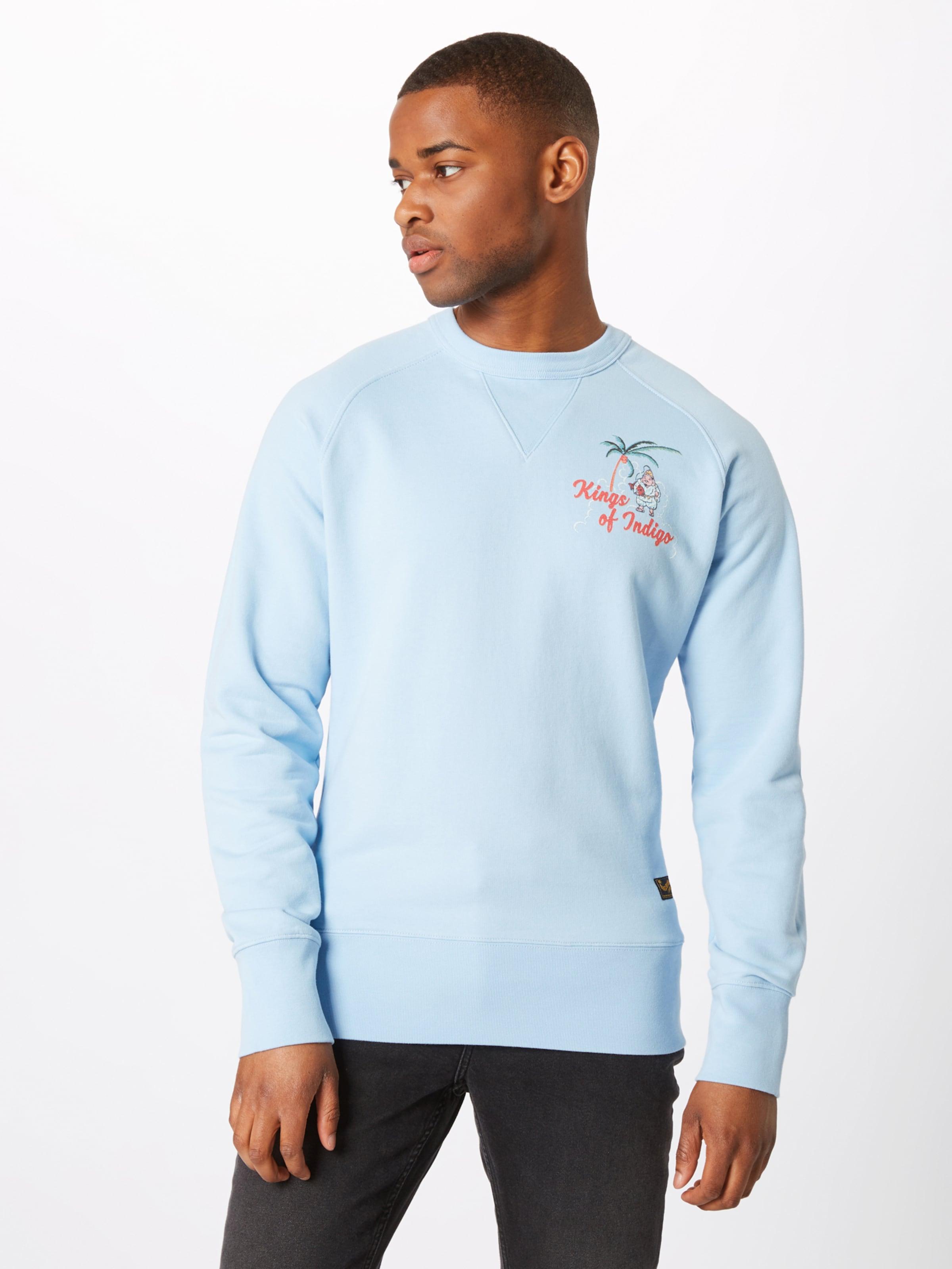 Bleu Clair Indigo En 'parnell' Kings shirt Of Sweat tdBhrCsQx