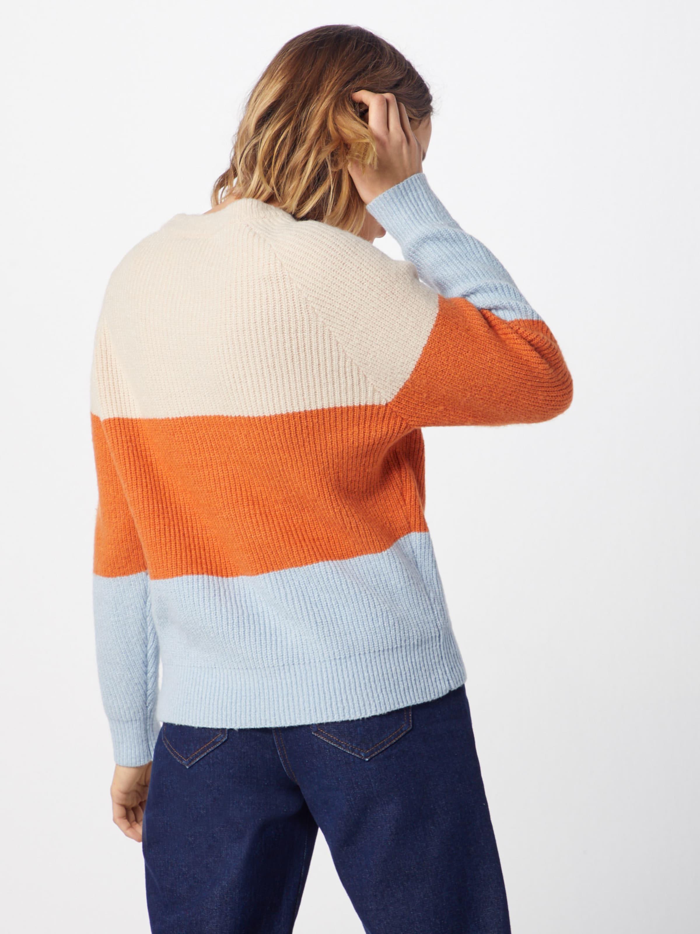 In Orange Object BeigeHellblau Object Pullover wmnN0v8O