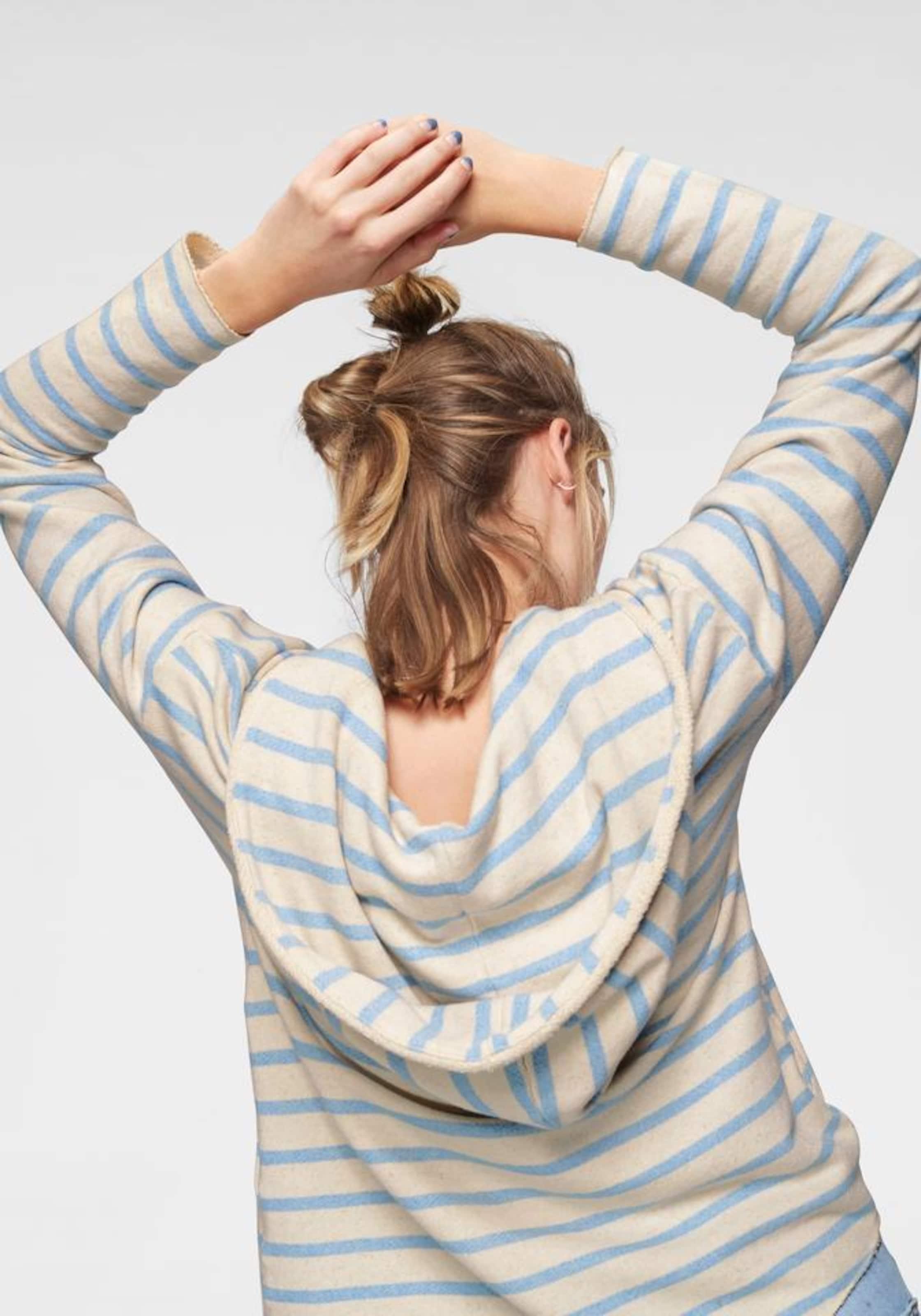 'sonja' Herrlicher BeigemeliertHellblau In 'sonja' Sweatshirt Sweatshirt Herrlicher jq54A3LR