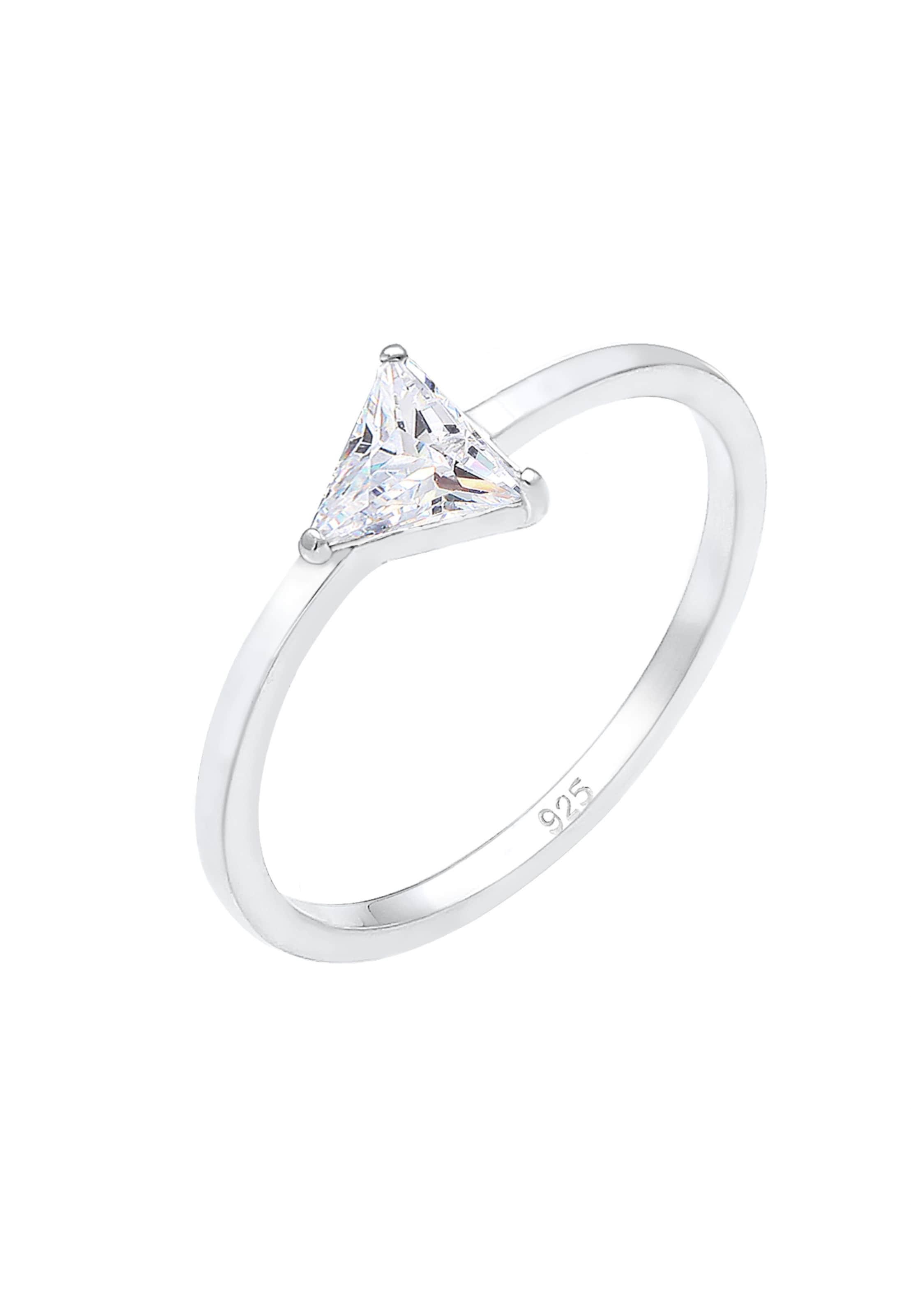 Ring In Elli 'kristall' 'kristall' In Elli Ring Silber 'kristall' Ring Silber Elli 3jL54ARq