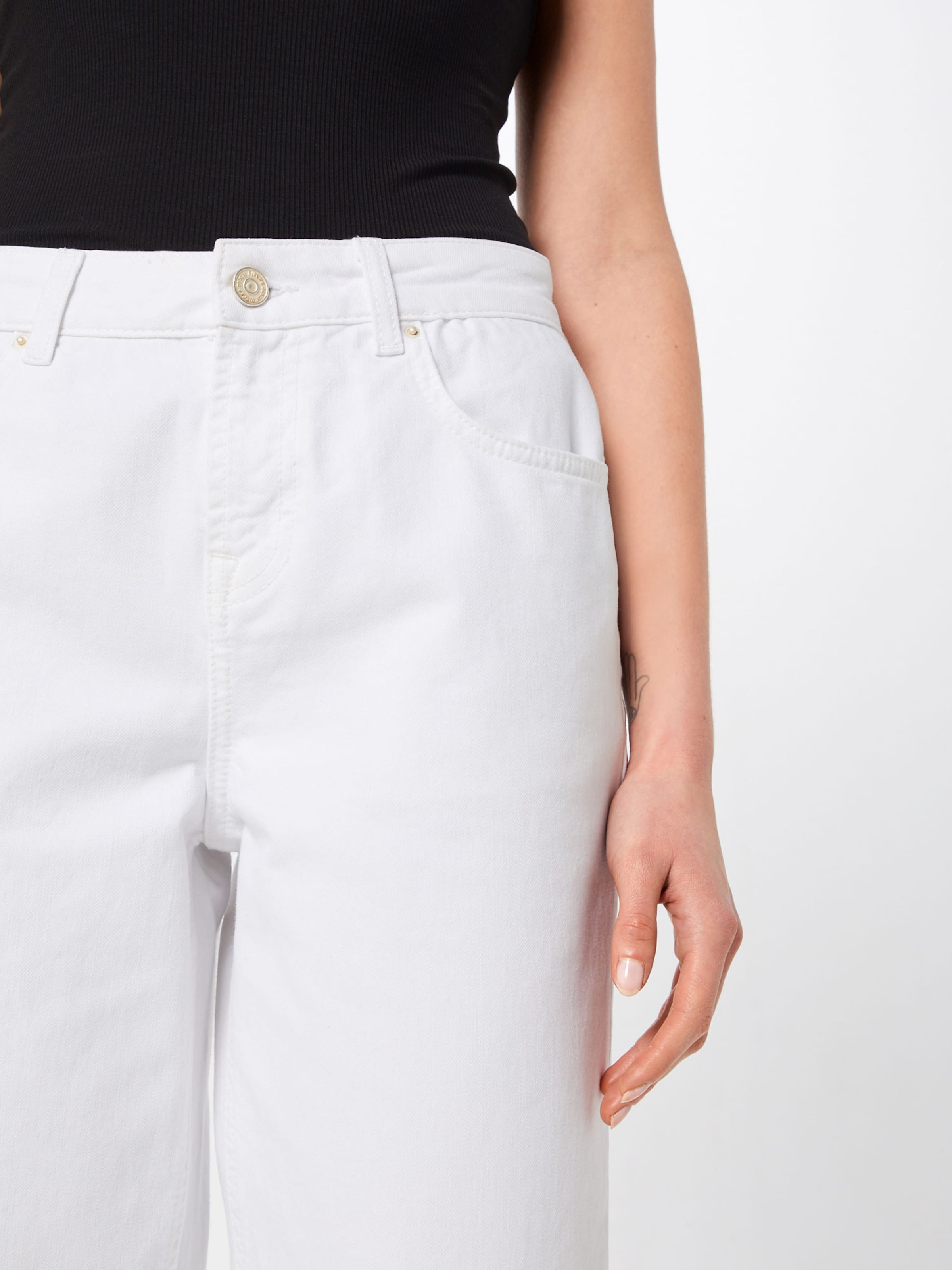 'bex' Pieces Pantalon En Blanc Pieces Pantalon 'bex' Nwmy8OPvn0