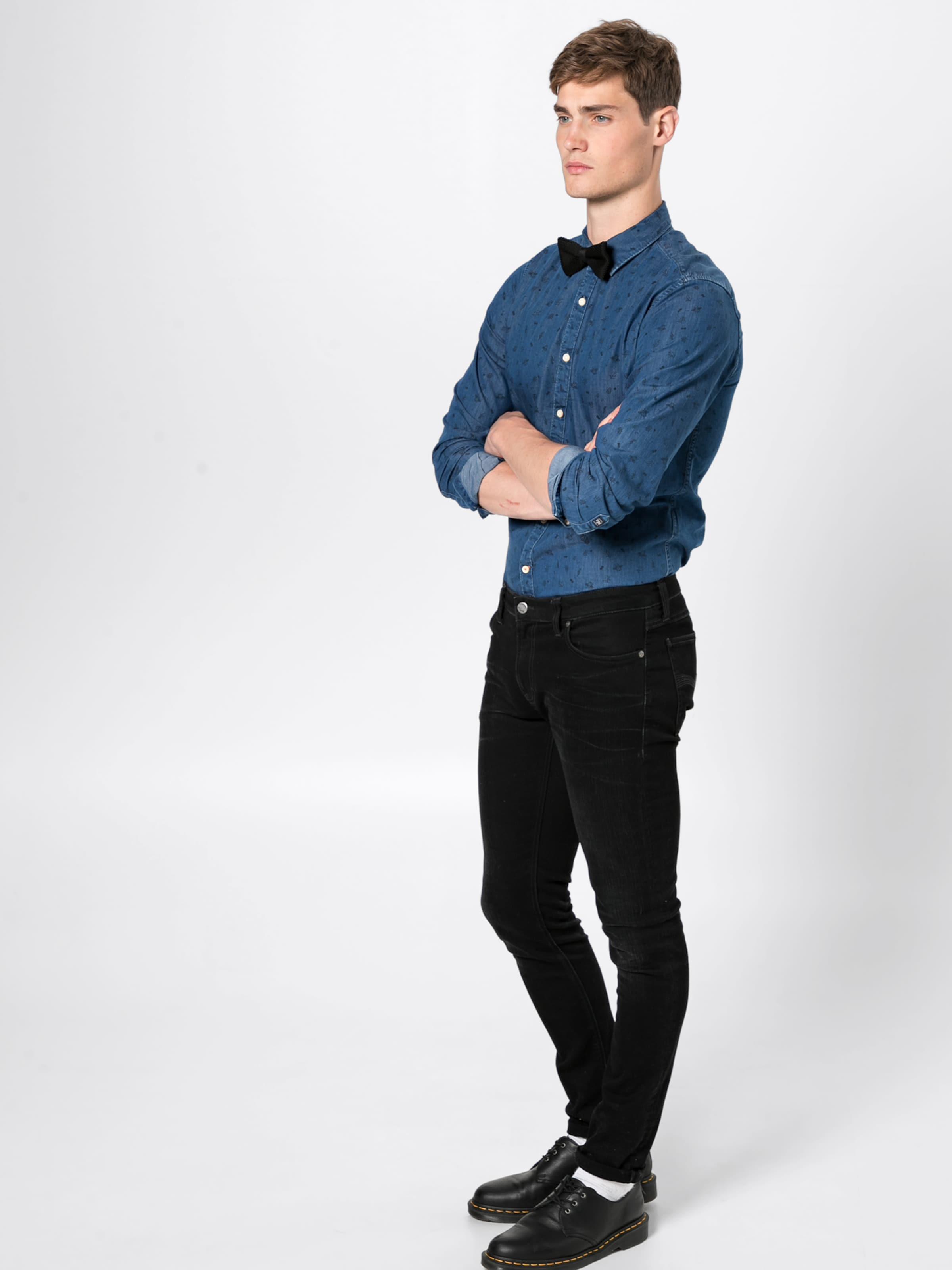 Jeans Denim En Bleu Chemise 'harold' Pepe 0nkwOP