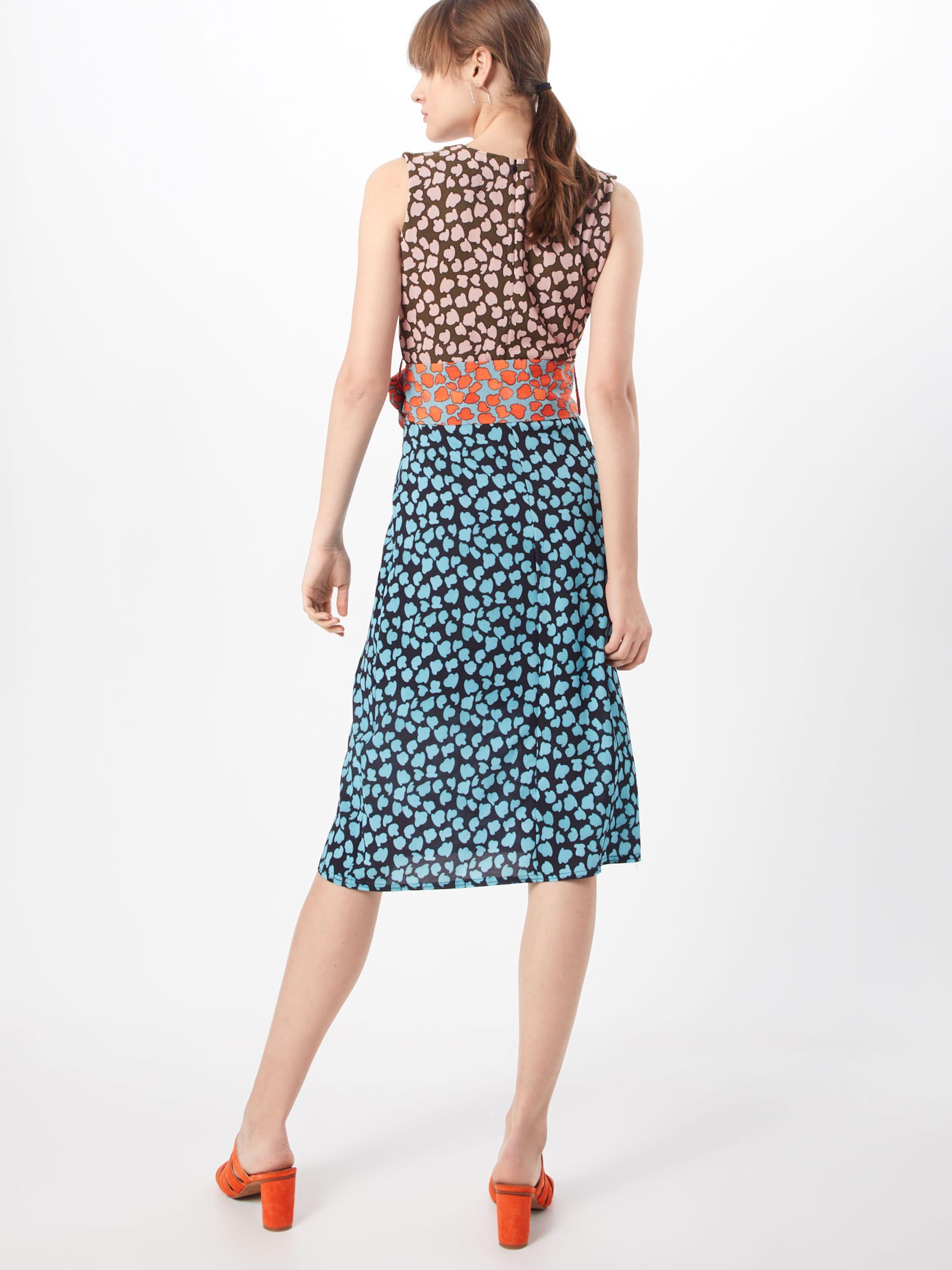 Lost Mix Robe BleuOrange Ink 'column Dress Print' In En OTPkXiwZu