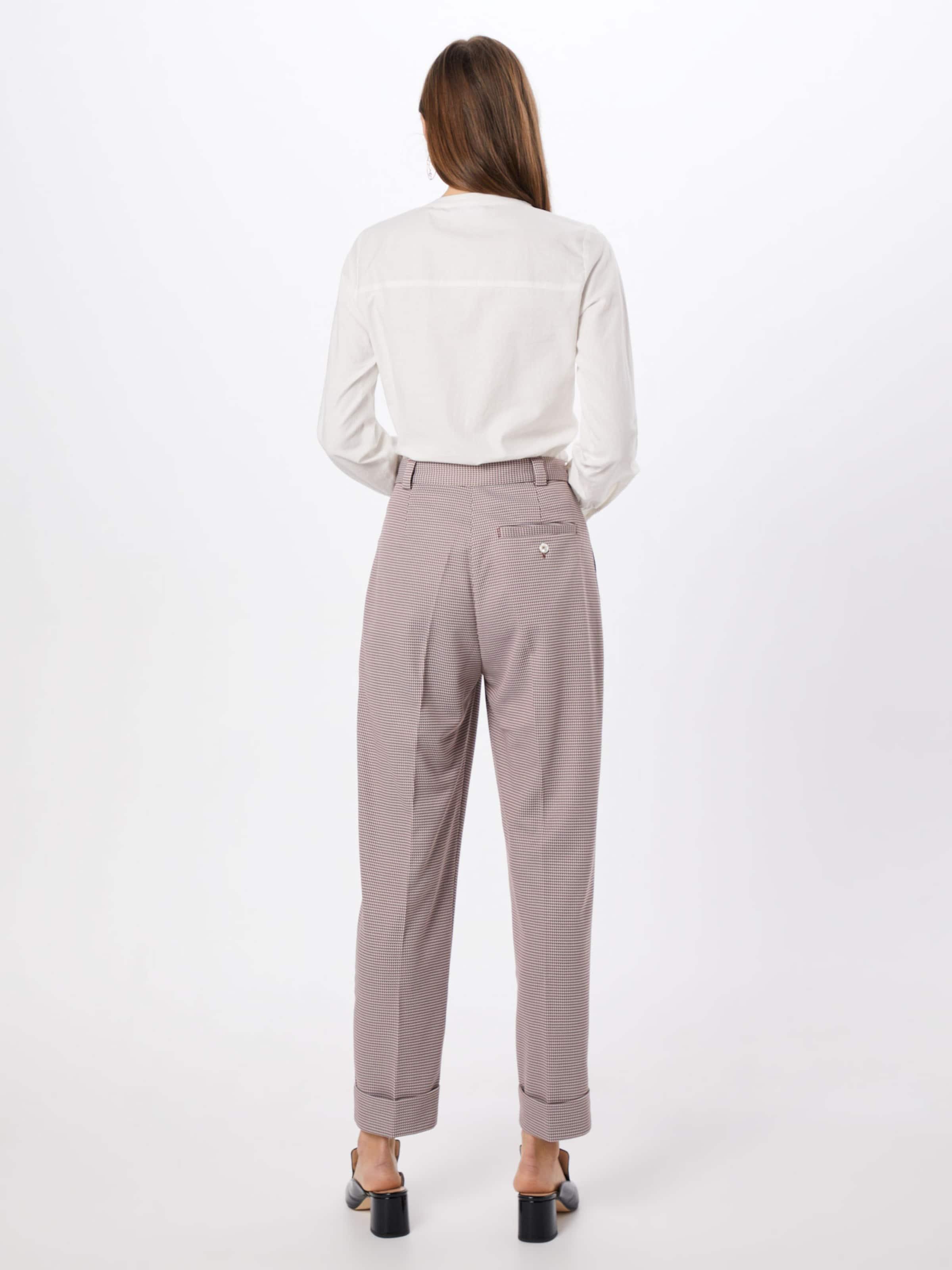 Pantalon Postyr Pince MarronBlanc À En 'sonja' wPXlkZOiuT