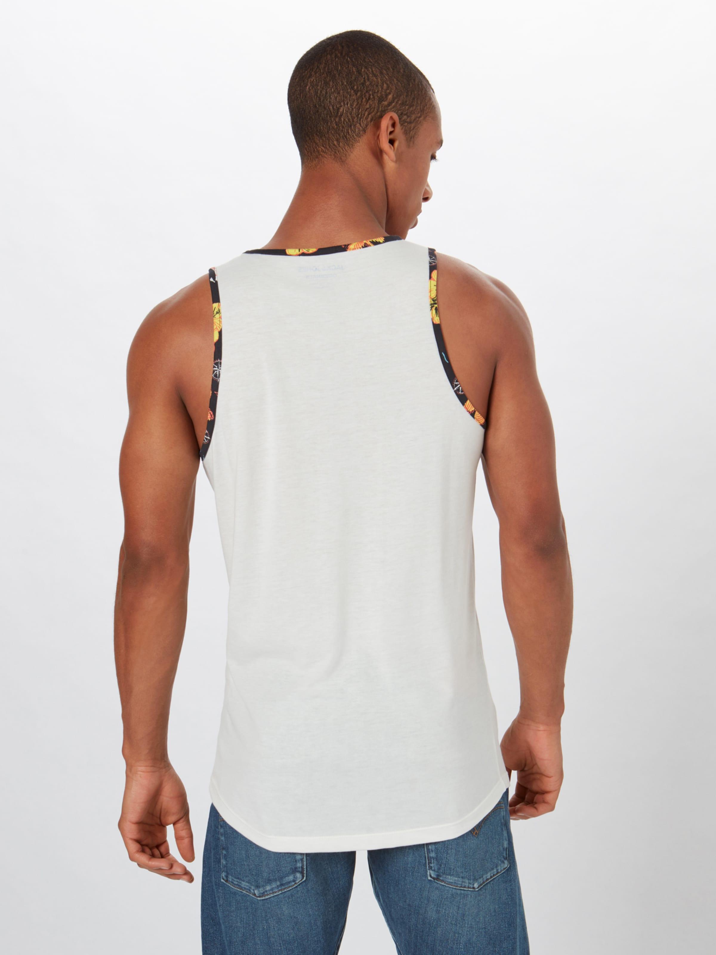 Jackamp; En De shirt T Mélange 'molokai' Jones CouleursBlanc nP0Owk