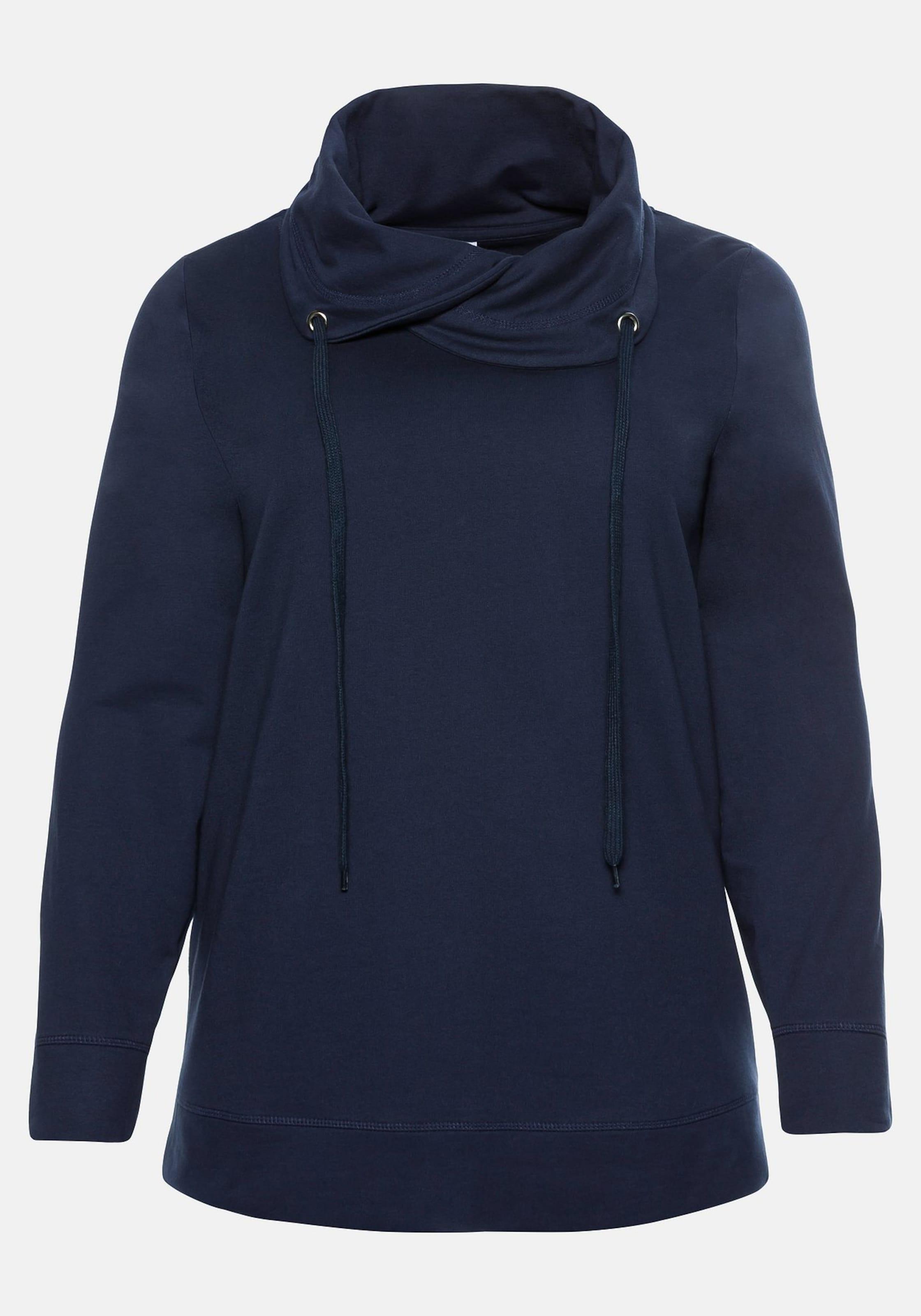 Sheego Marine Sweatshirt Sheego Sheego Casual In Sweatshirt Marine In Casual Casual 3Lc5RqA4j