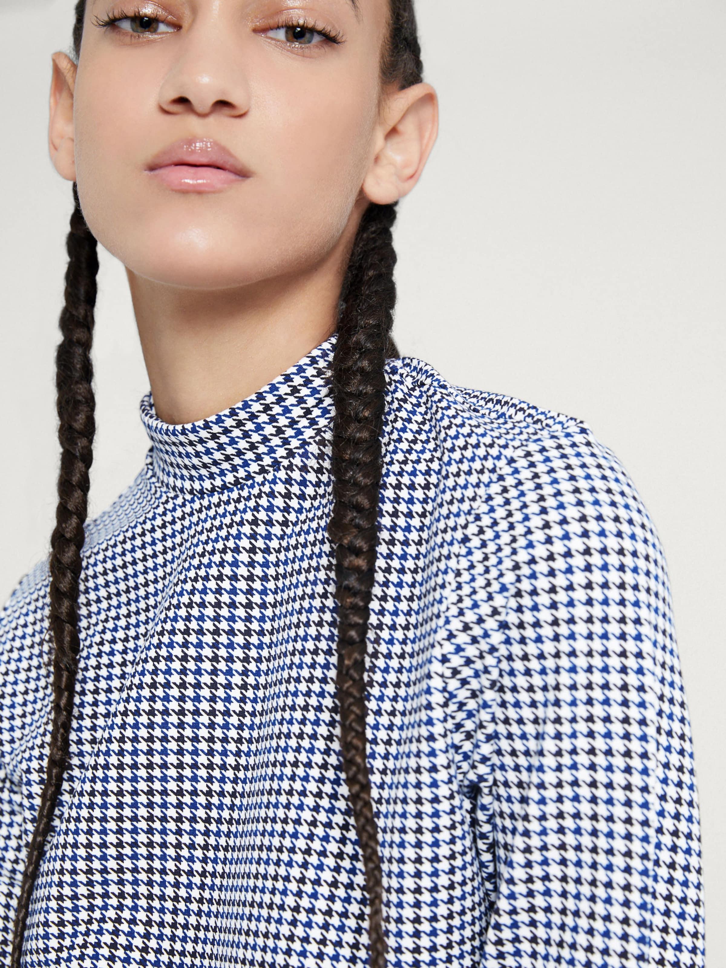 shirt T Edited 'ileana' BleuMarine Blanc En OPXwZuTki