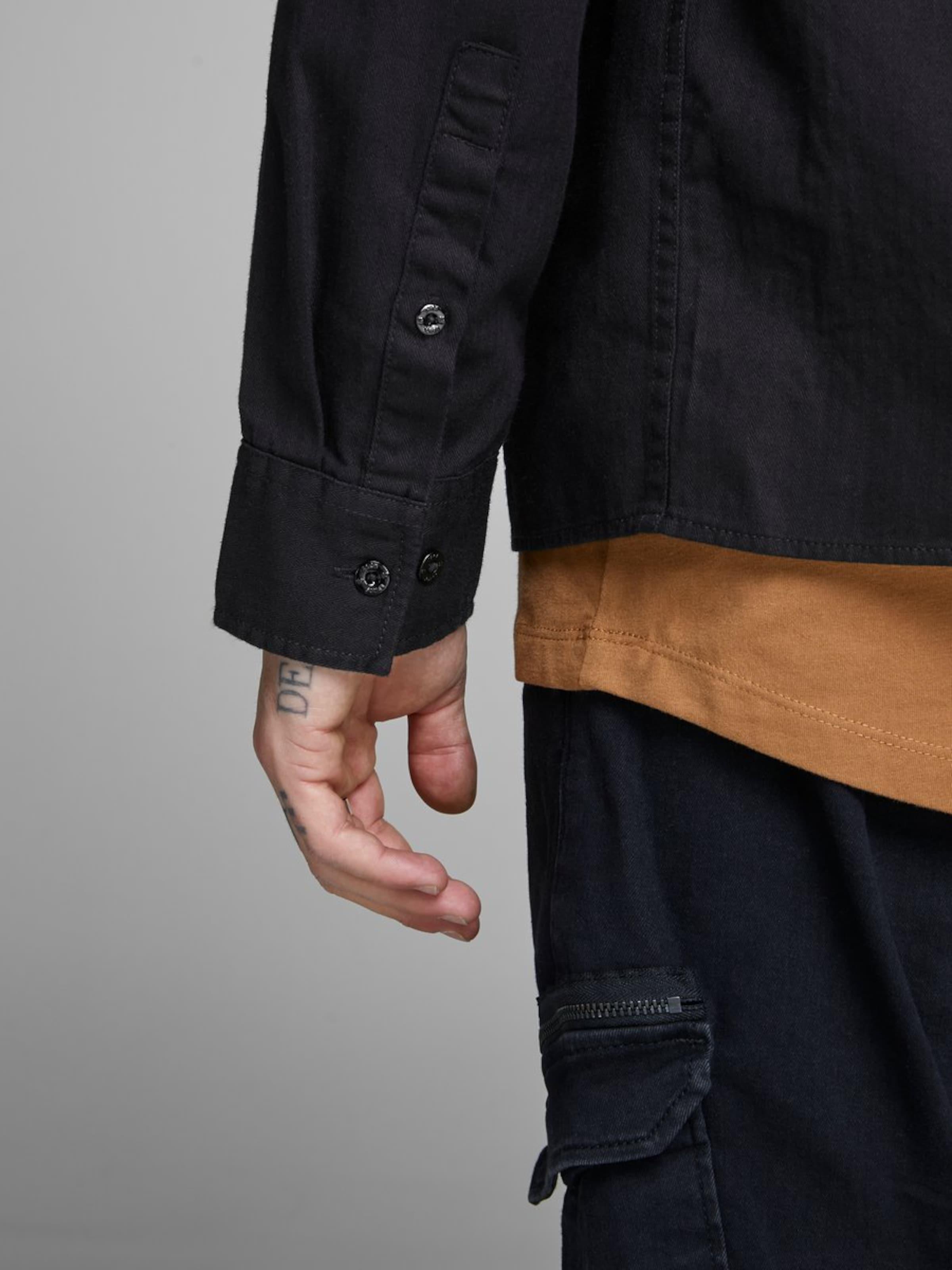 Chemise Jackamp; 'workwear' En Noir Jones VSUpMz