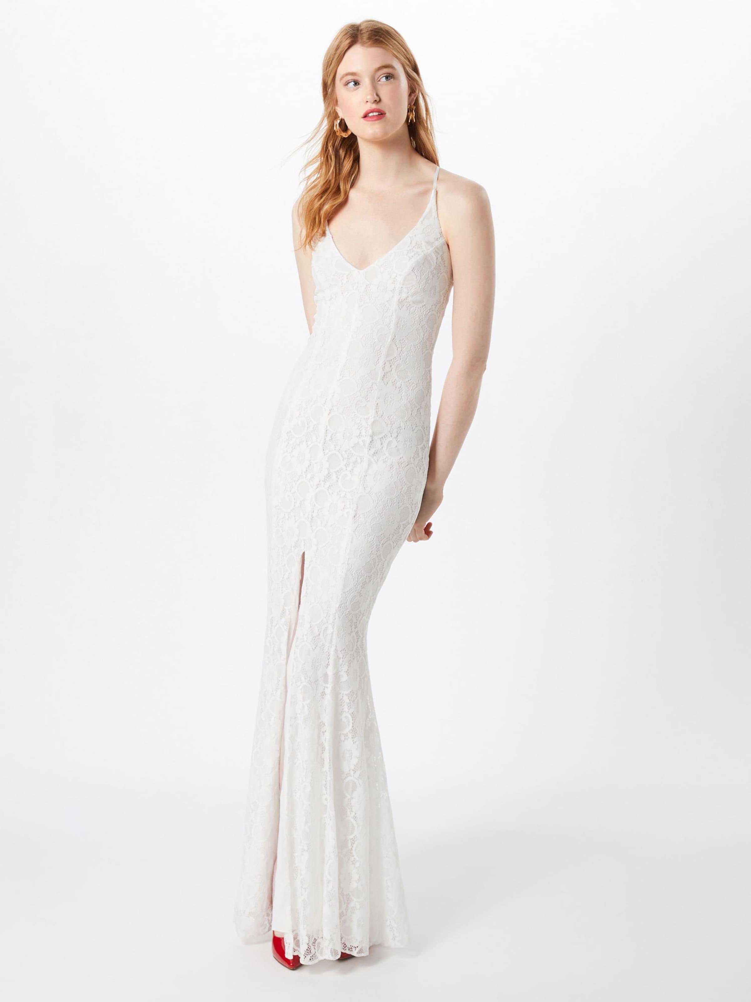 Robe De Missguided En Soirée Blanc yYbgv6f7