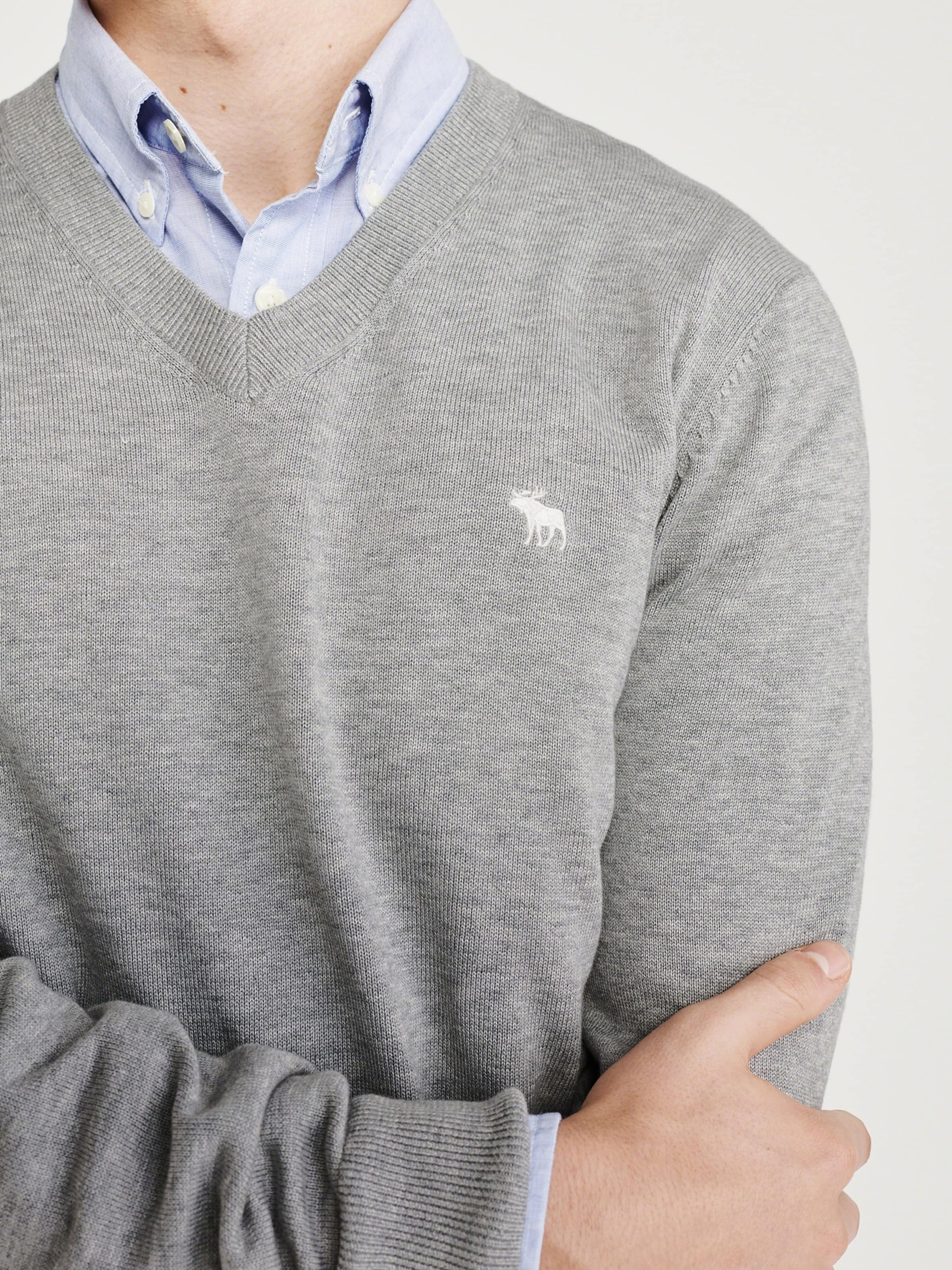 Pull Marine Fitch Bleu Abercrombieamp; over En bfY76gyv