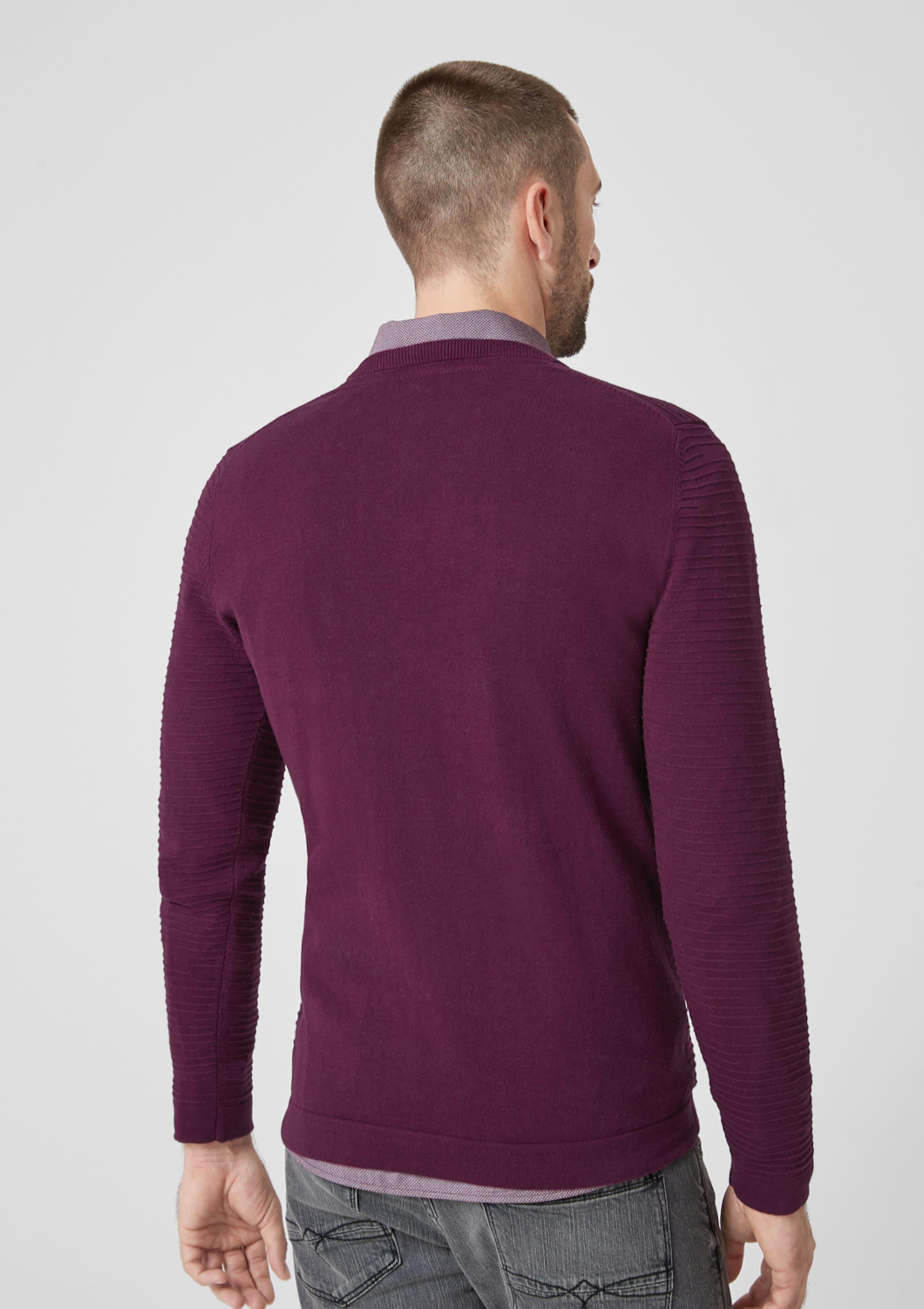 oliver Red Label S Merlot Pullover In OTPZXiku