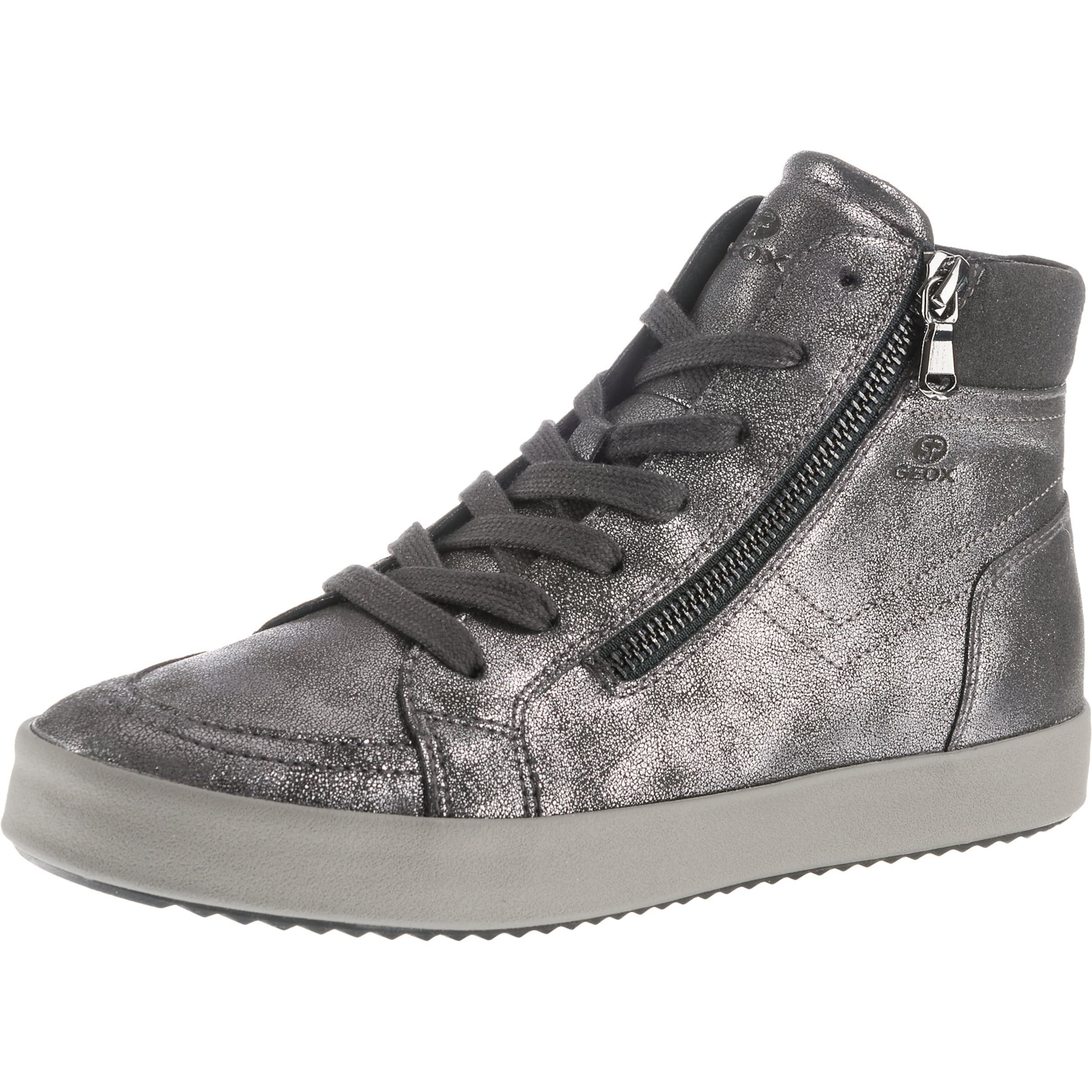 Donkergrijs In Hoog Geox 'blomiee' Sneakers CBQdtxrsh