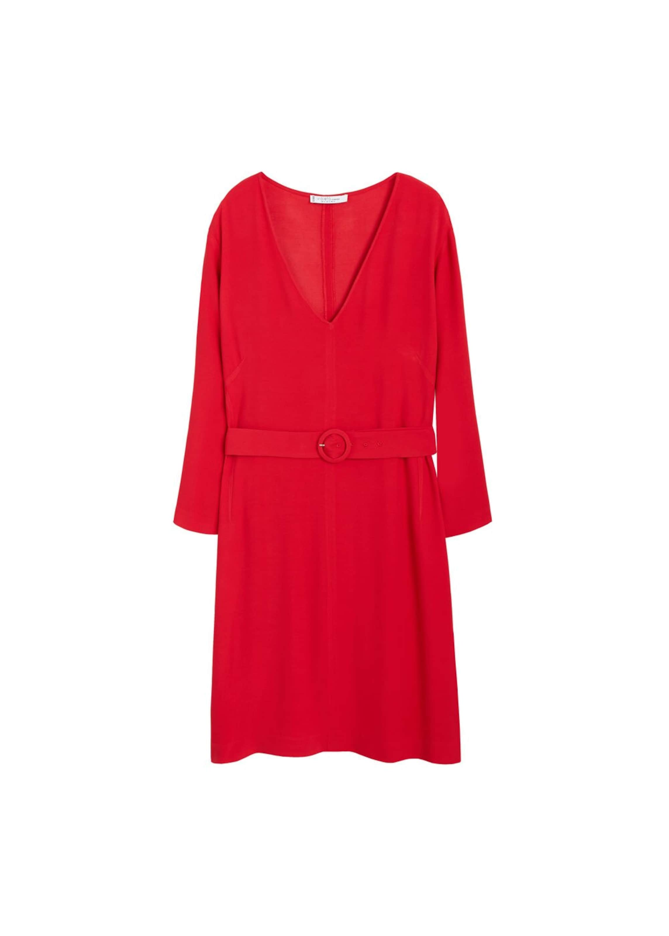 By In 'chainy5' Mango Violeta Kleid Rot A35jL4qR