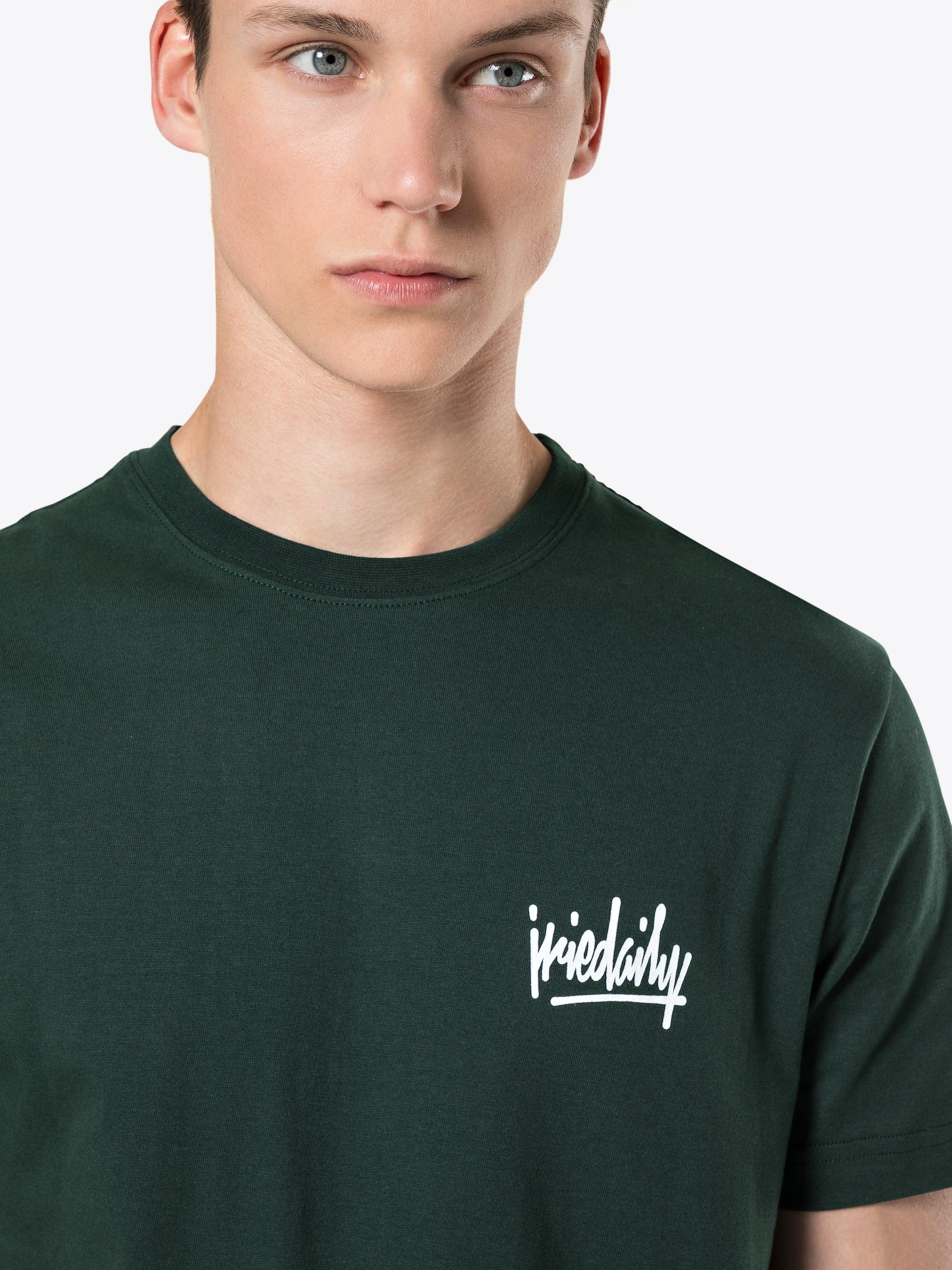 Noir T shirt Iriedaily Tee' En 'tagg XiuPkZ