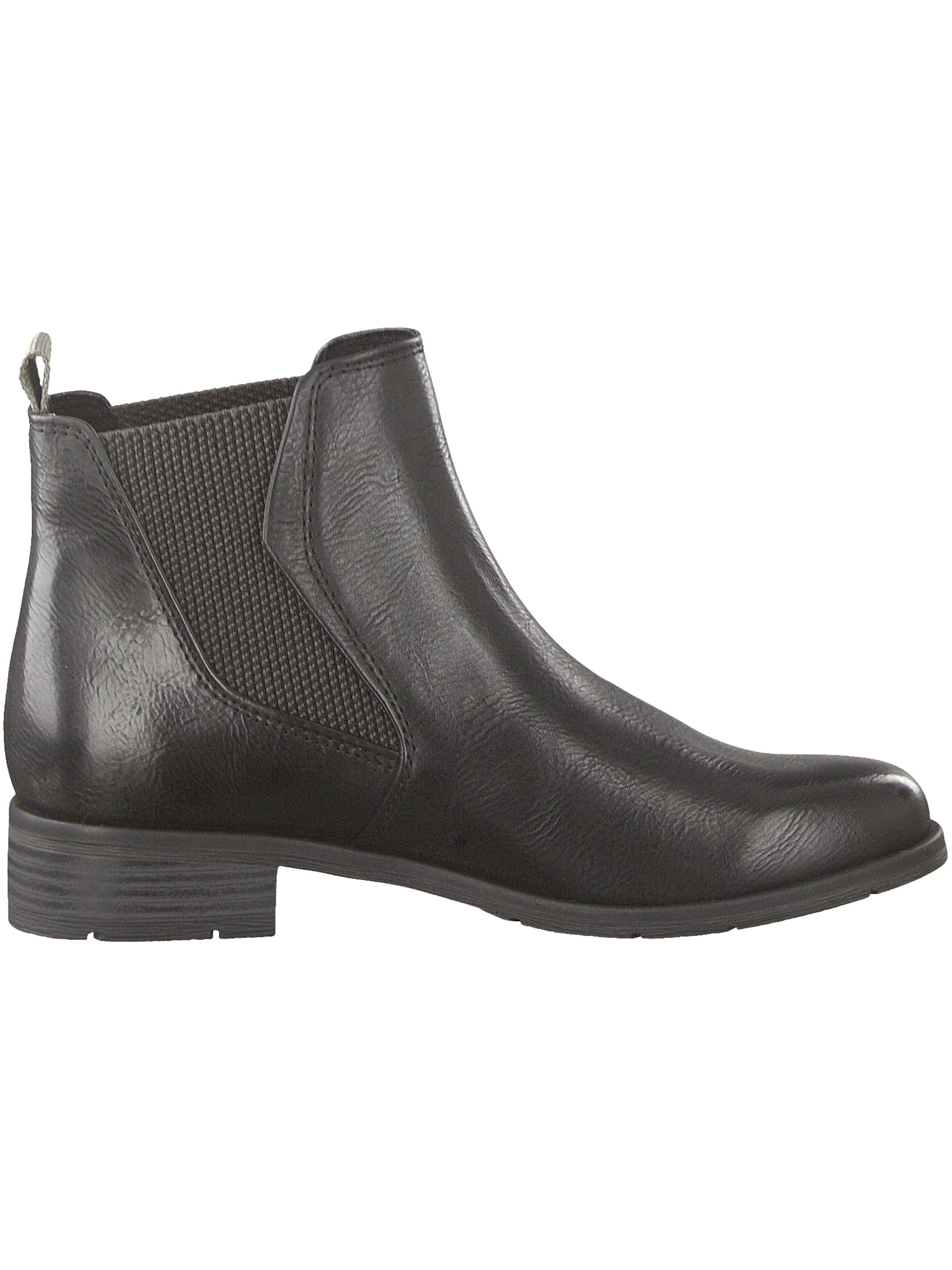 Marco En Tozzi Noir Chelsea Boots E2D9eWHIY