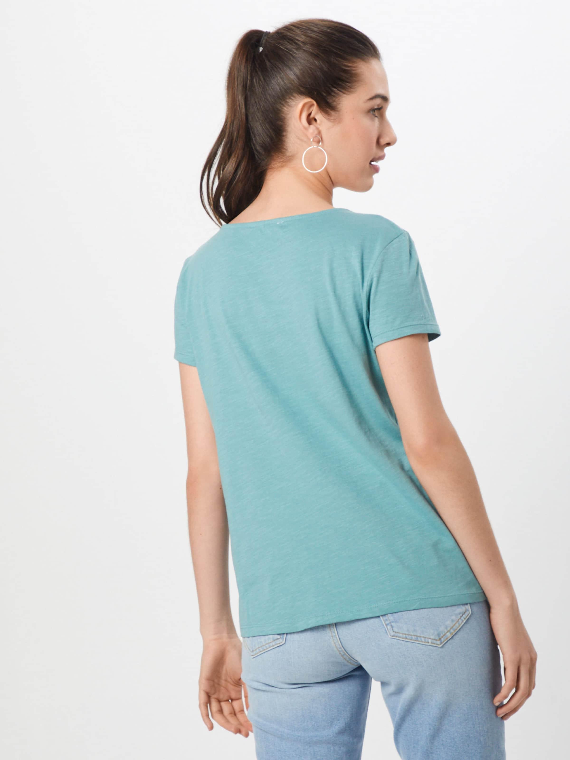 TurquoiseBleu Tom shirt Mix' En Fumé T 'schiffli Denim Tailor 0wNn8vm