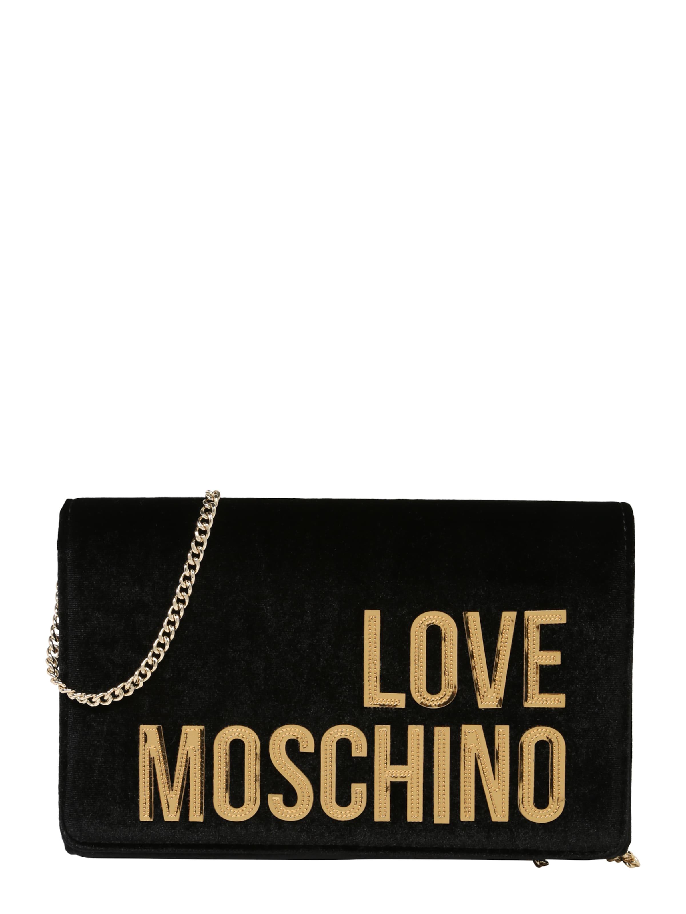 Pochette En Nero' 'borsa Moschino Velvet Noir Love SqUzVpGM