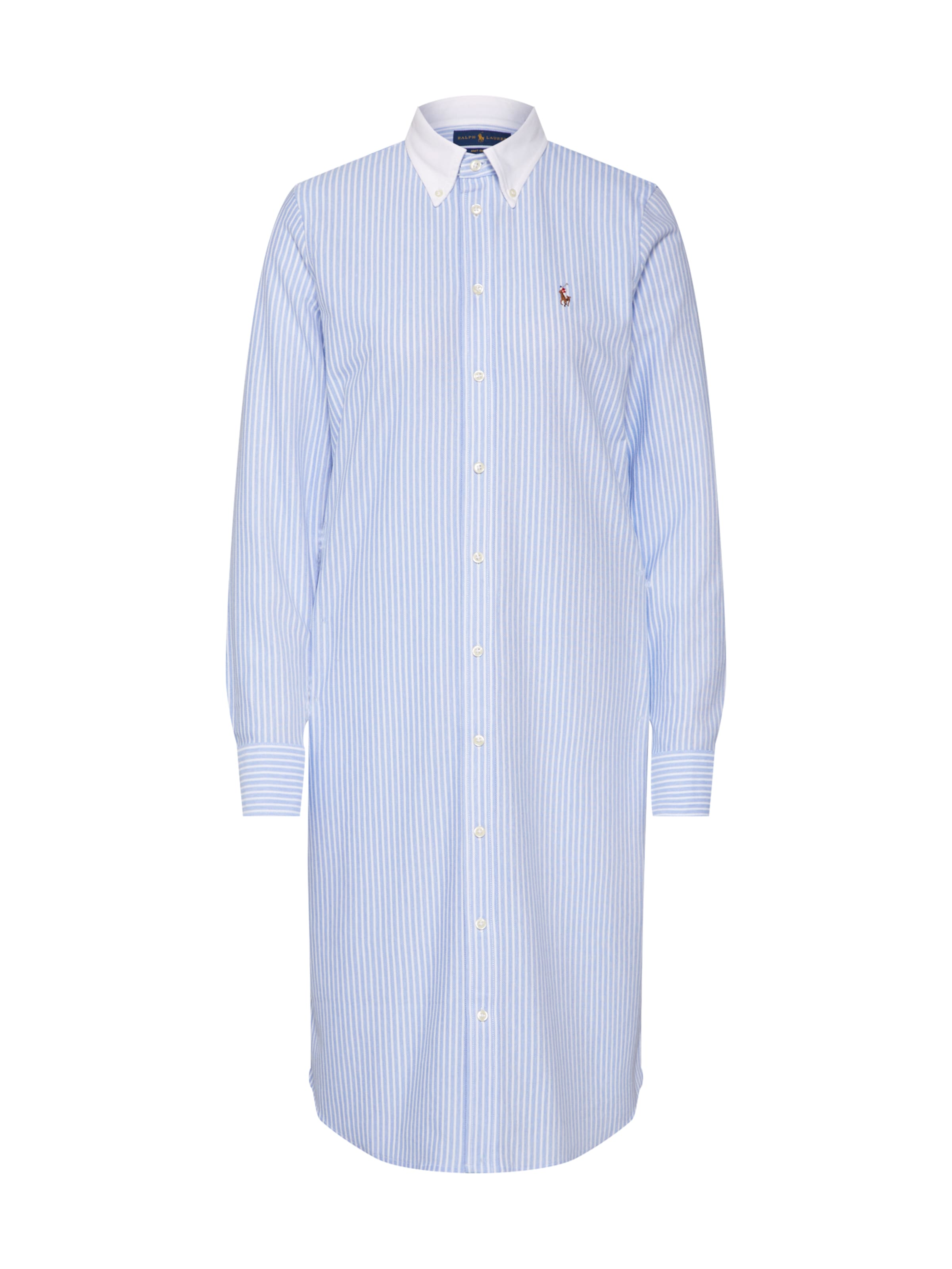 En Lauren Ralph BleuBlanc Robe chemise Polo qzVGSUMLp