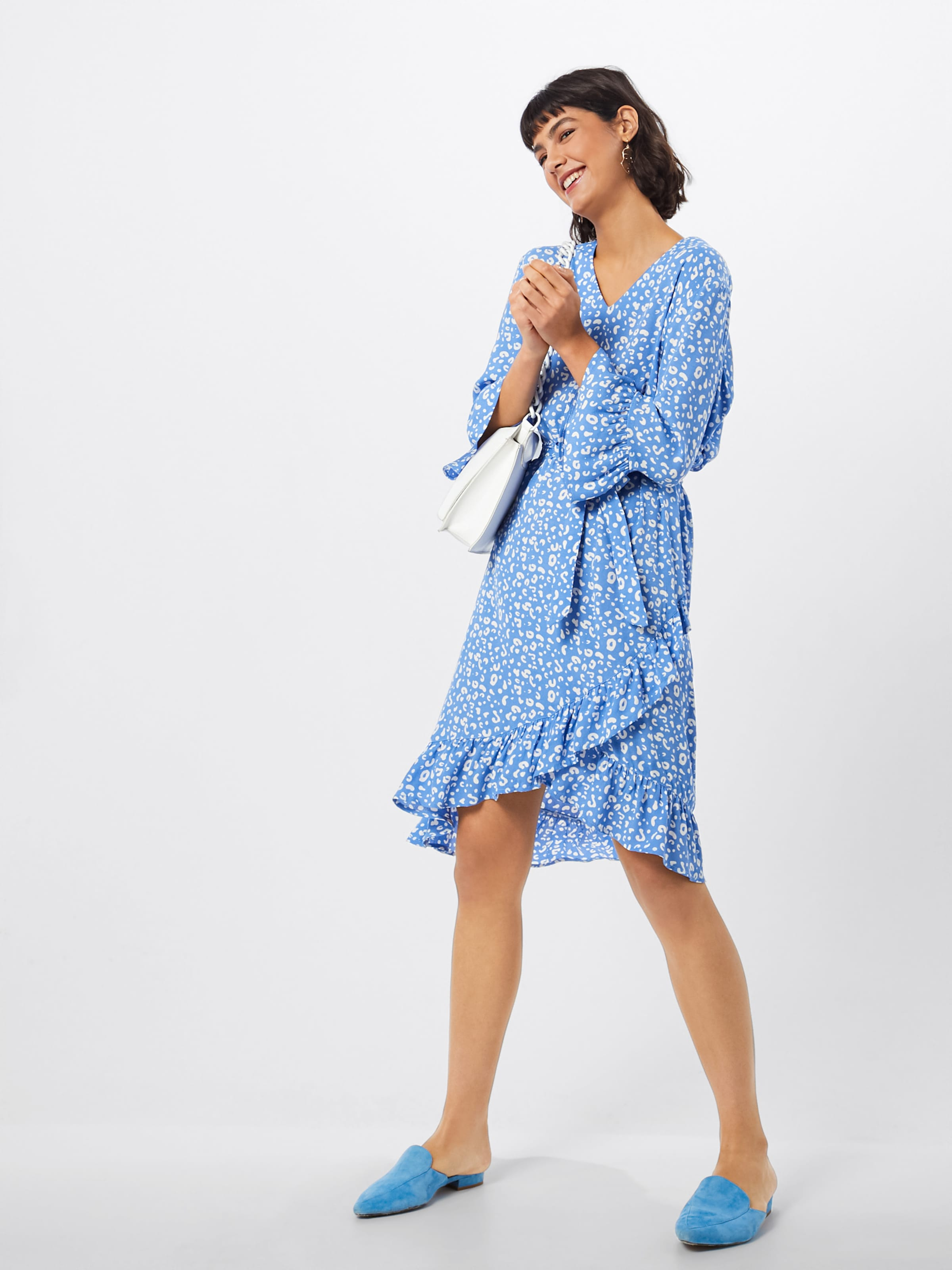 ClairBlanc Robe D'été Bleu Tropez Saint En j5A4RL