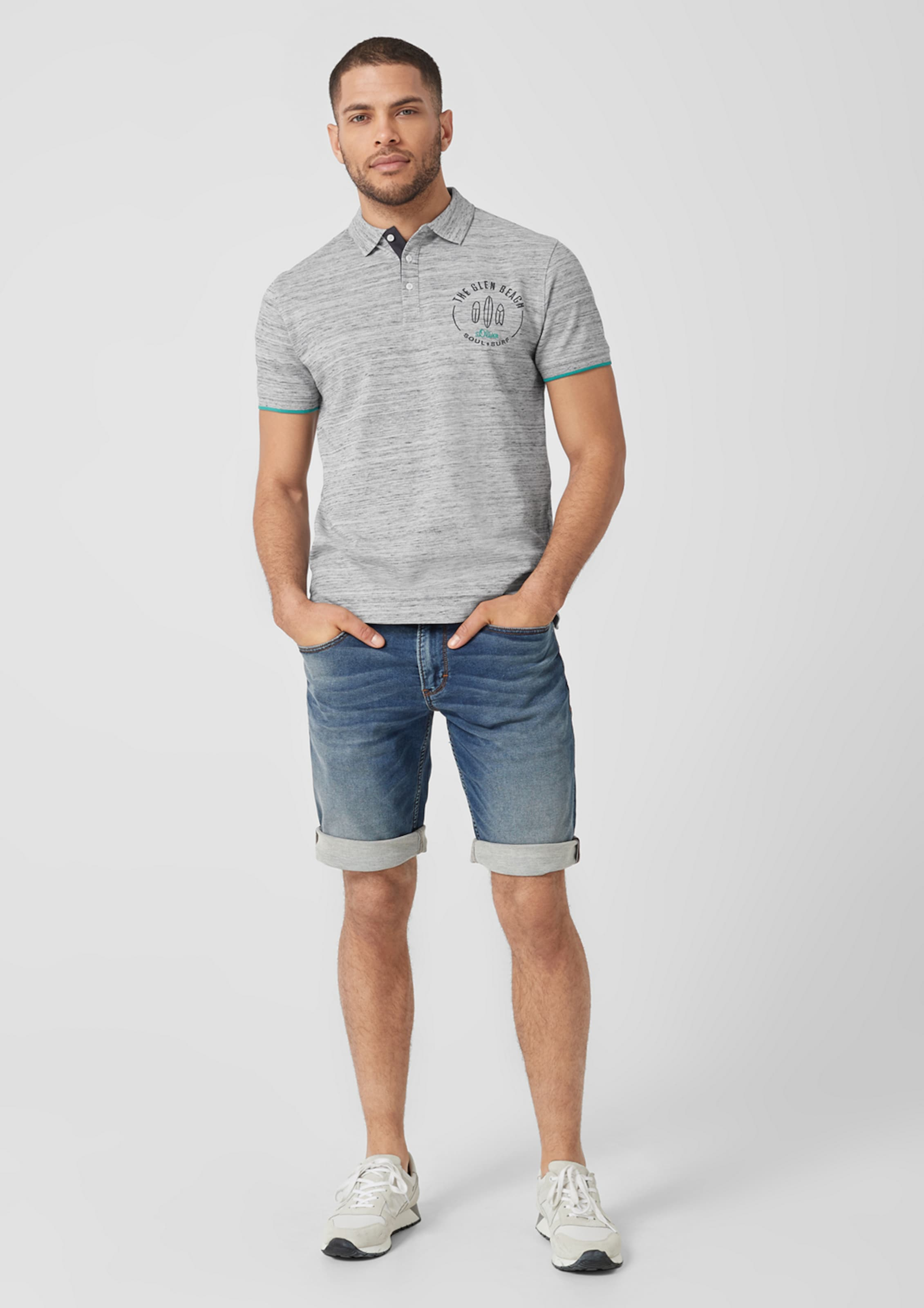 Label S oliver Red Grau Poloshirt In q34R5AjL