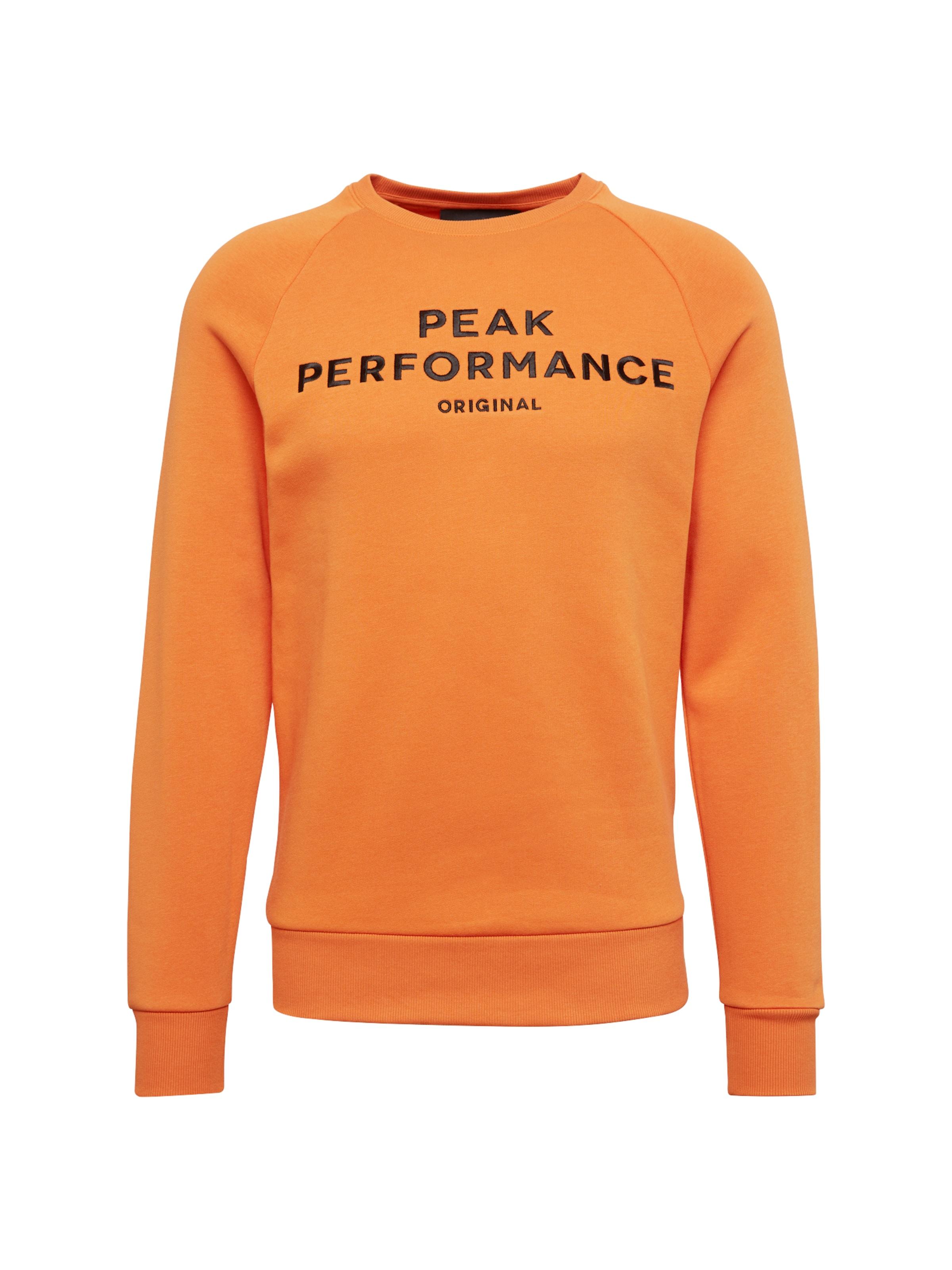 Peak Sweat En shirt Orange Performance Yg76vbfy