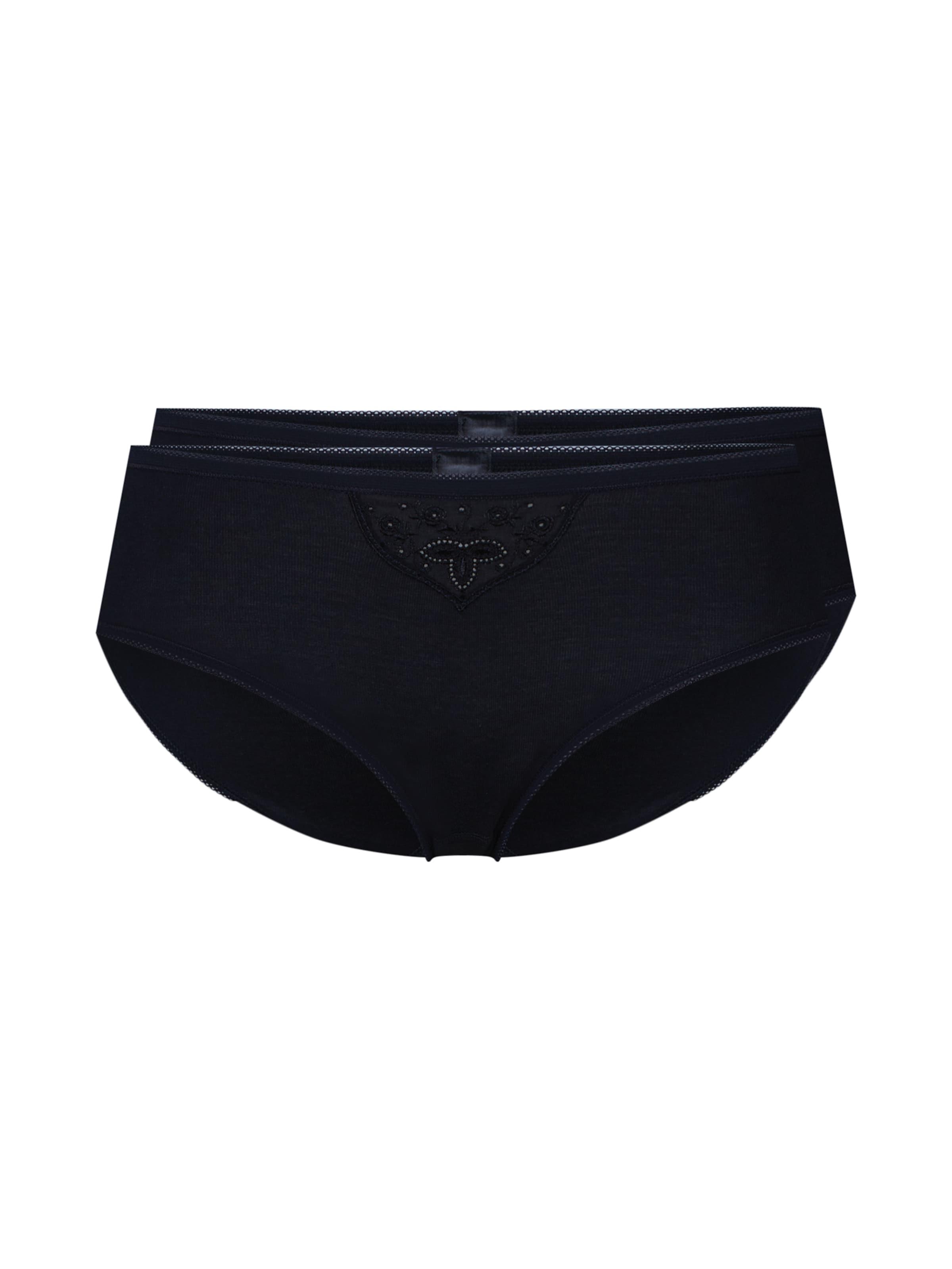 'cotton Noir Essentials' En Culotte Schiesser EY9WI2eDH