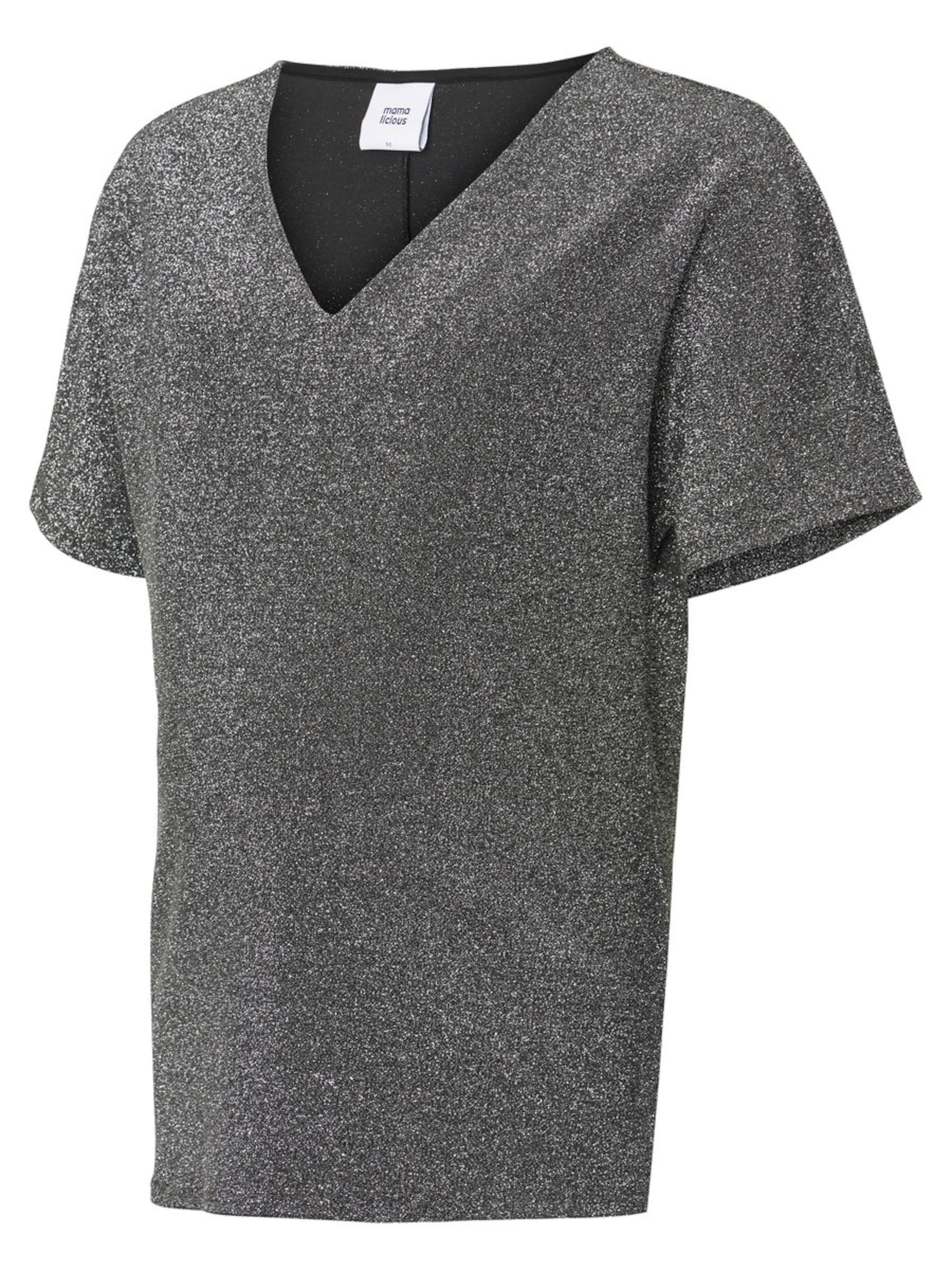 Gris T shirt Mamalicious Basalte En Y7vbfy6g