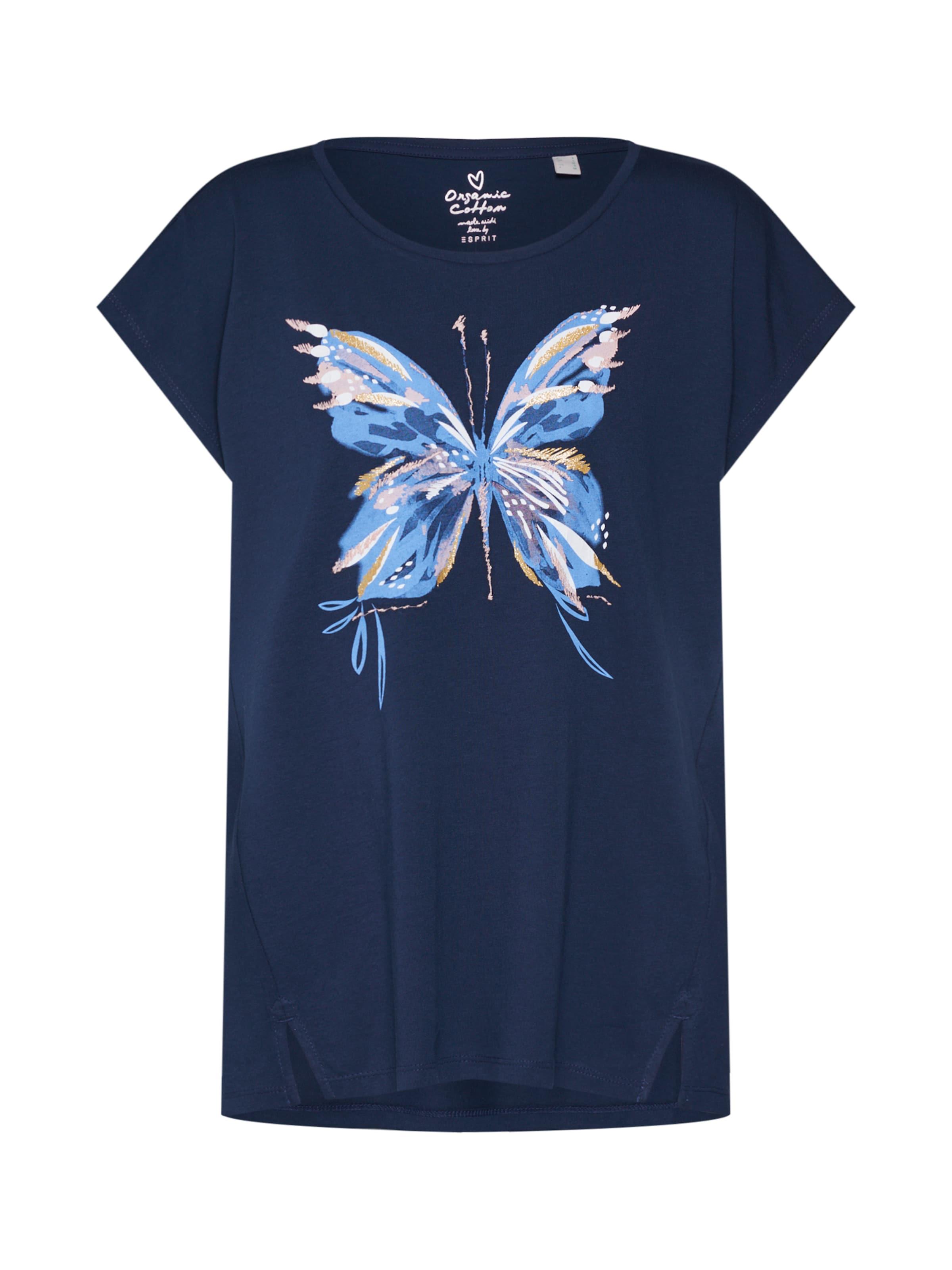 T T' En shirt Émeraude Esprit Butterfly 'ocs WxCBoerd