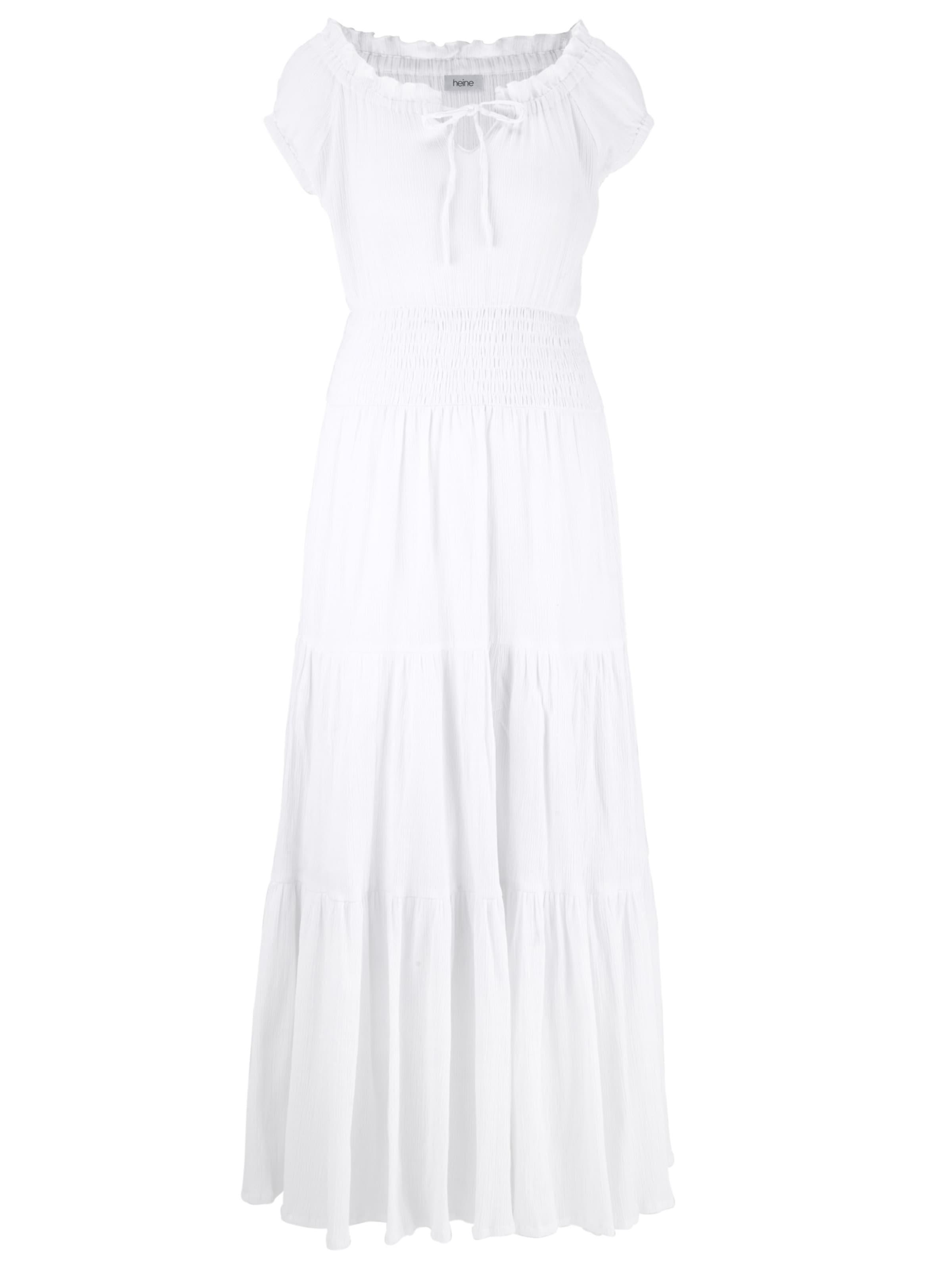 Blanc D'été En Robe Robe Heine D'été Heine En 3R45AjL