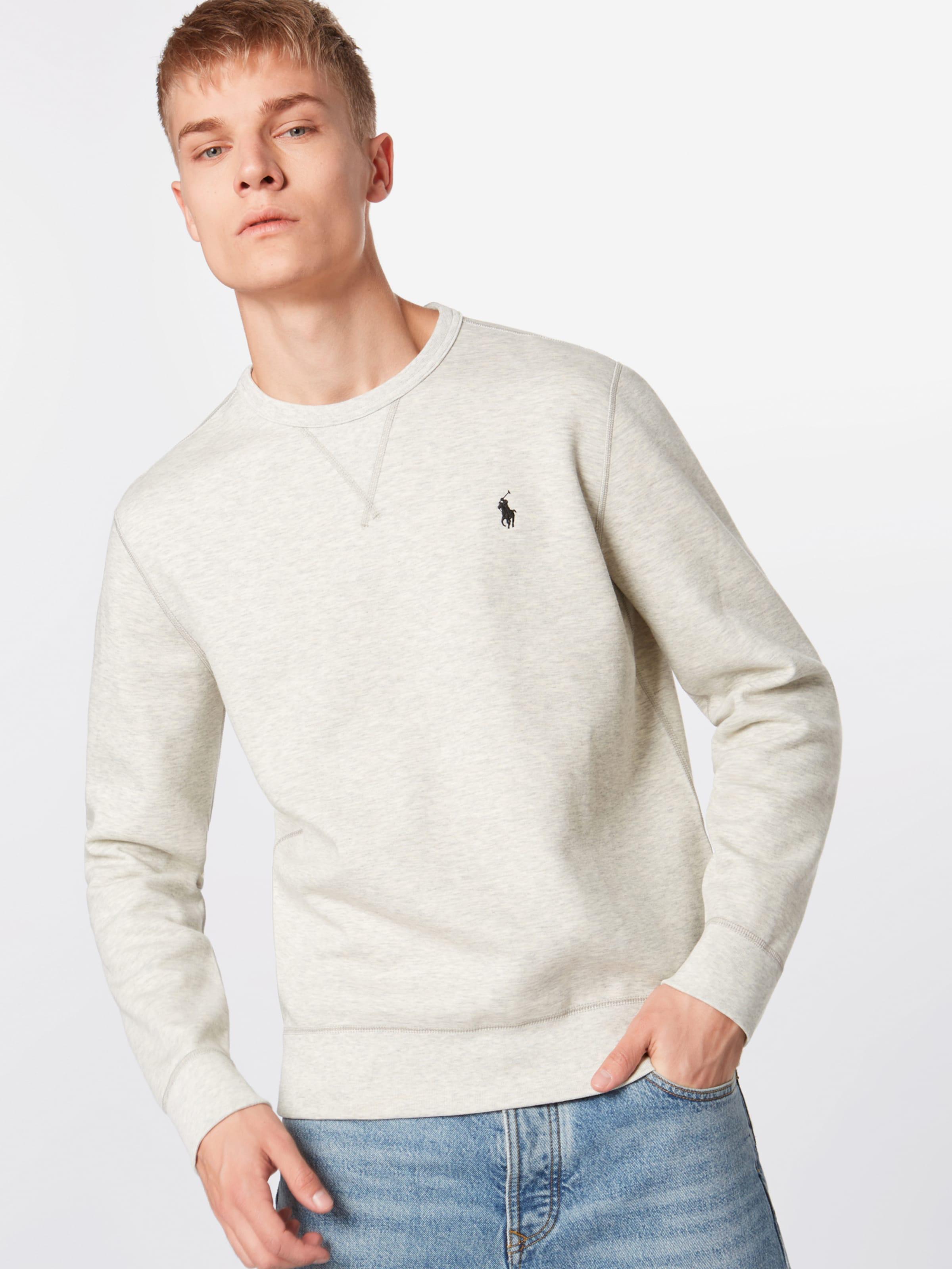 Sweat shirt Polo 'lscnm6 knit' En Ralph Vert Sleeve Lauren long m8wOvNn0