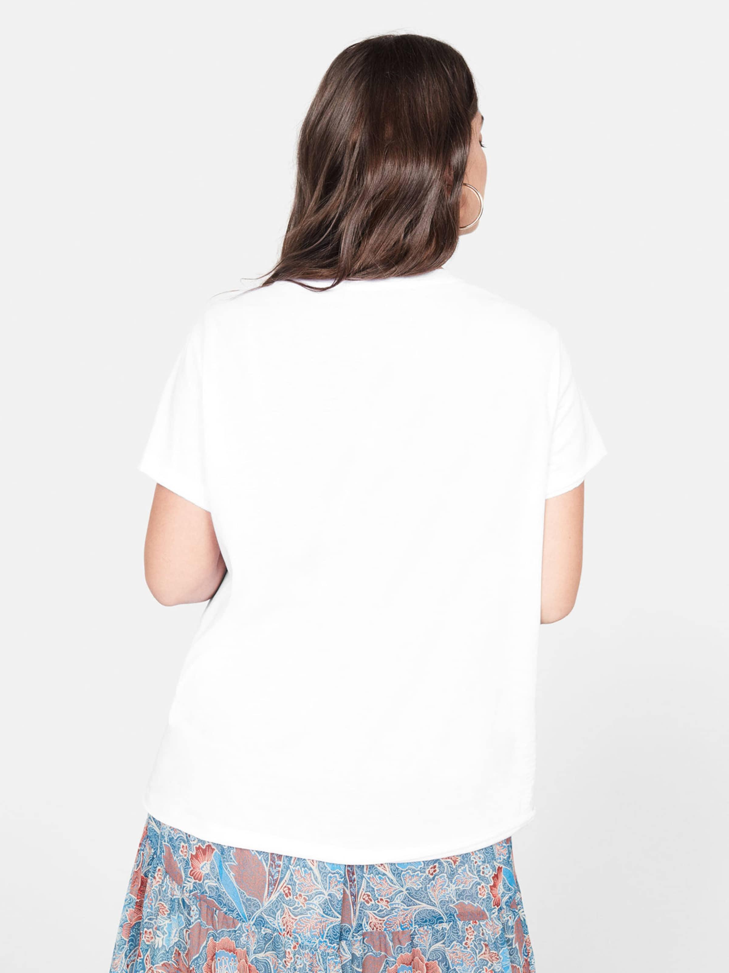 In Violeta OrangerotWeiß shirt By Mango T WYD2H9IE