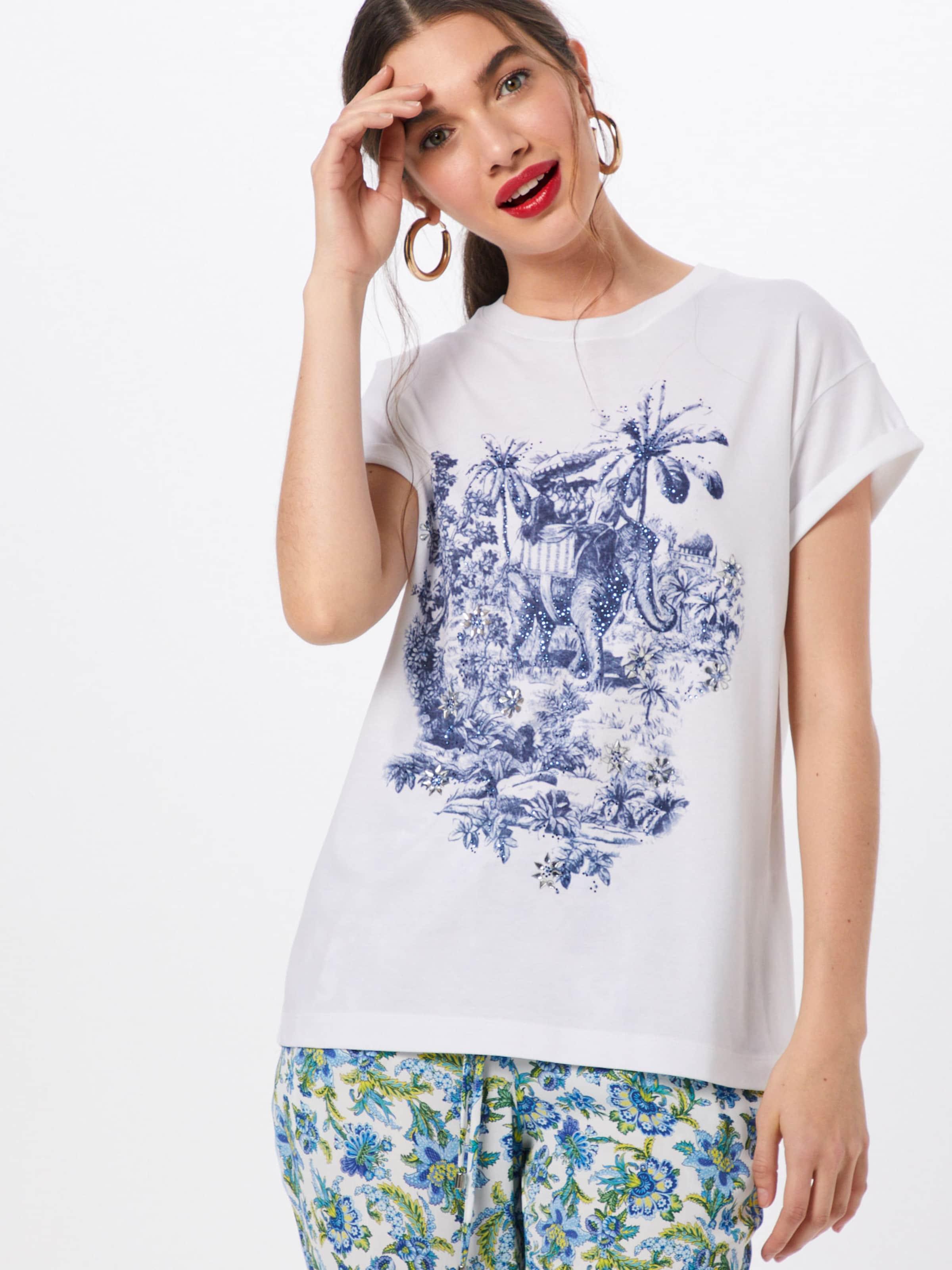 Richamp; T shirt Royal BleuBlanc En thCBQsrdx