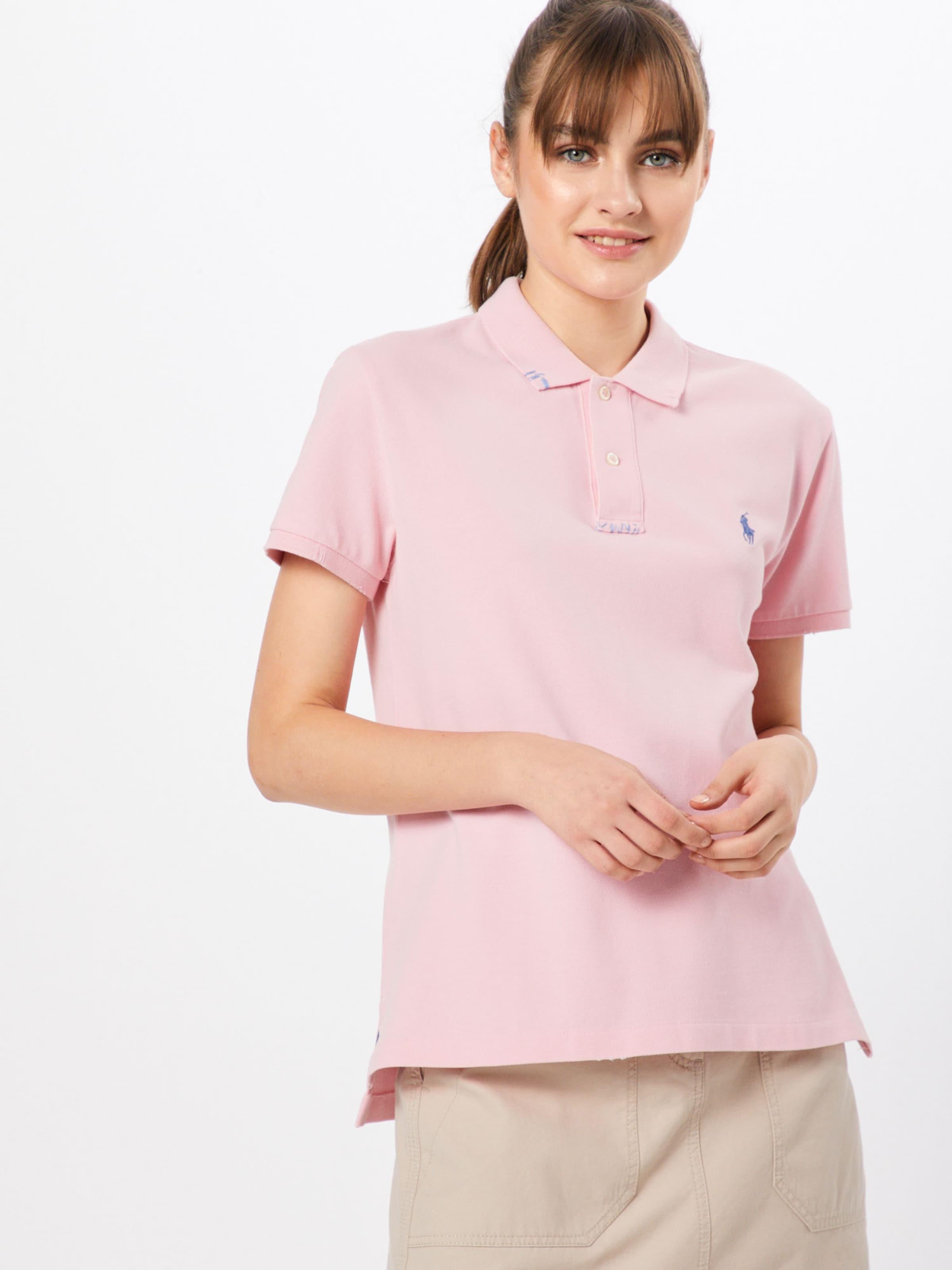 T Ralph classic short En Jaune knit' Rm Polo shirt 'fit Lauren Sleeve J3TlK1Fc
