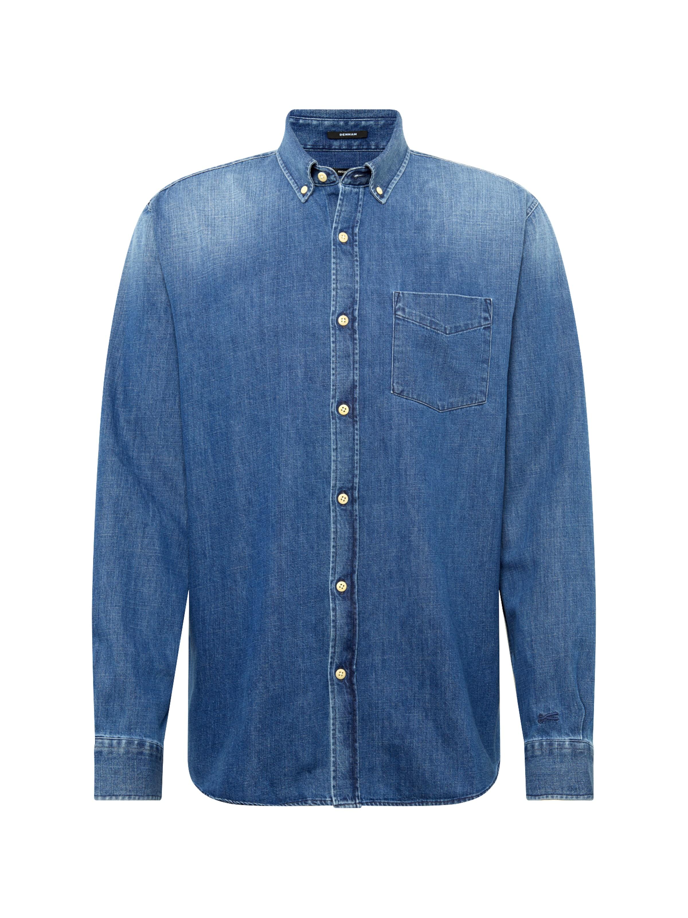 Bleu 'standard Denim Denham Shirt Chemise Pid' En MVSUqzp
