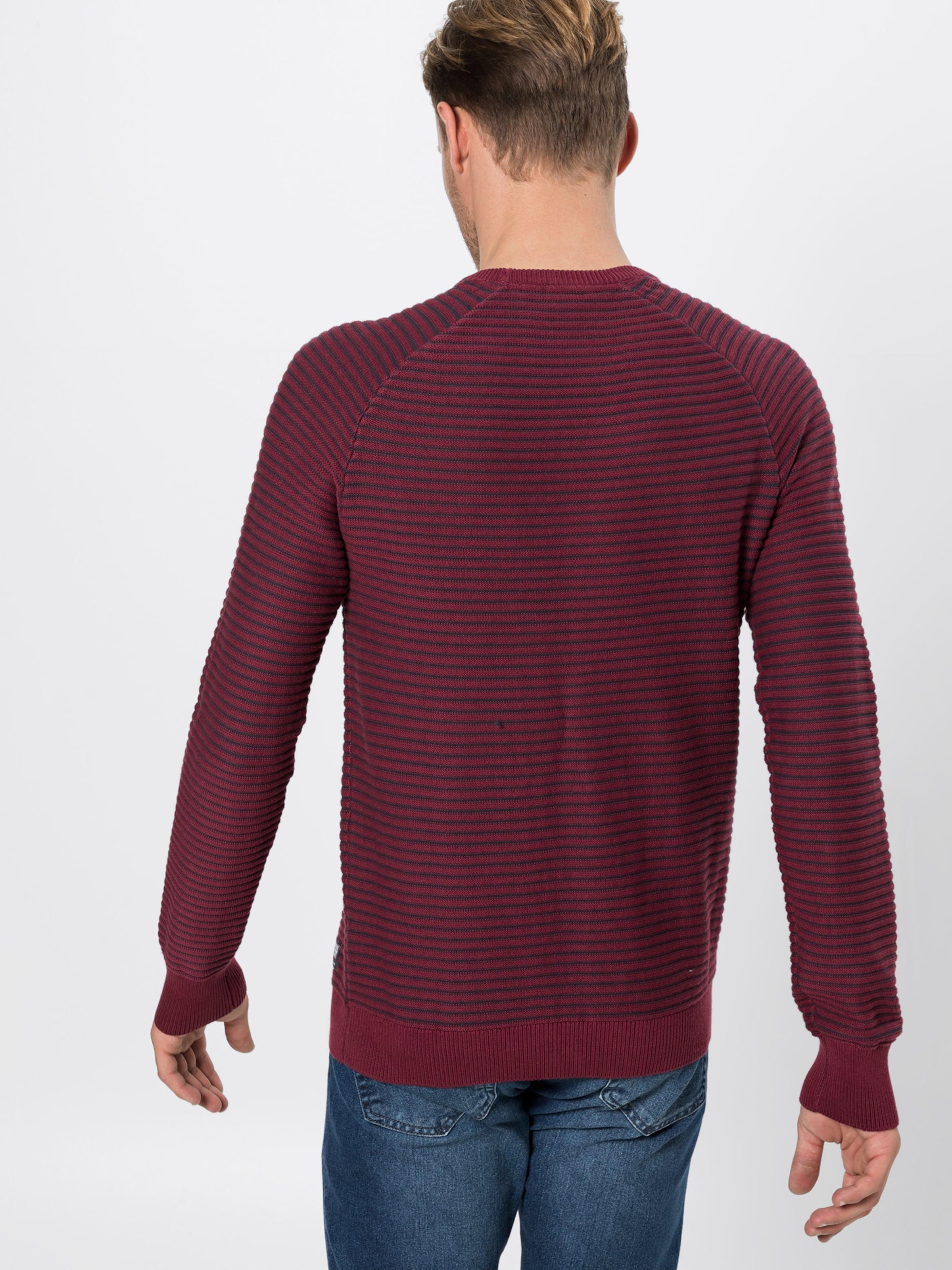 Red oliver AnthrazitBlutrot Pullover S Label In rBodxeC