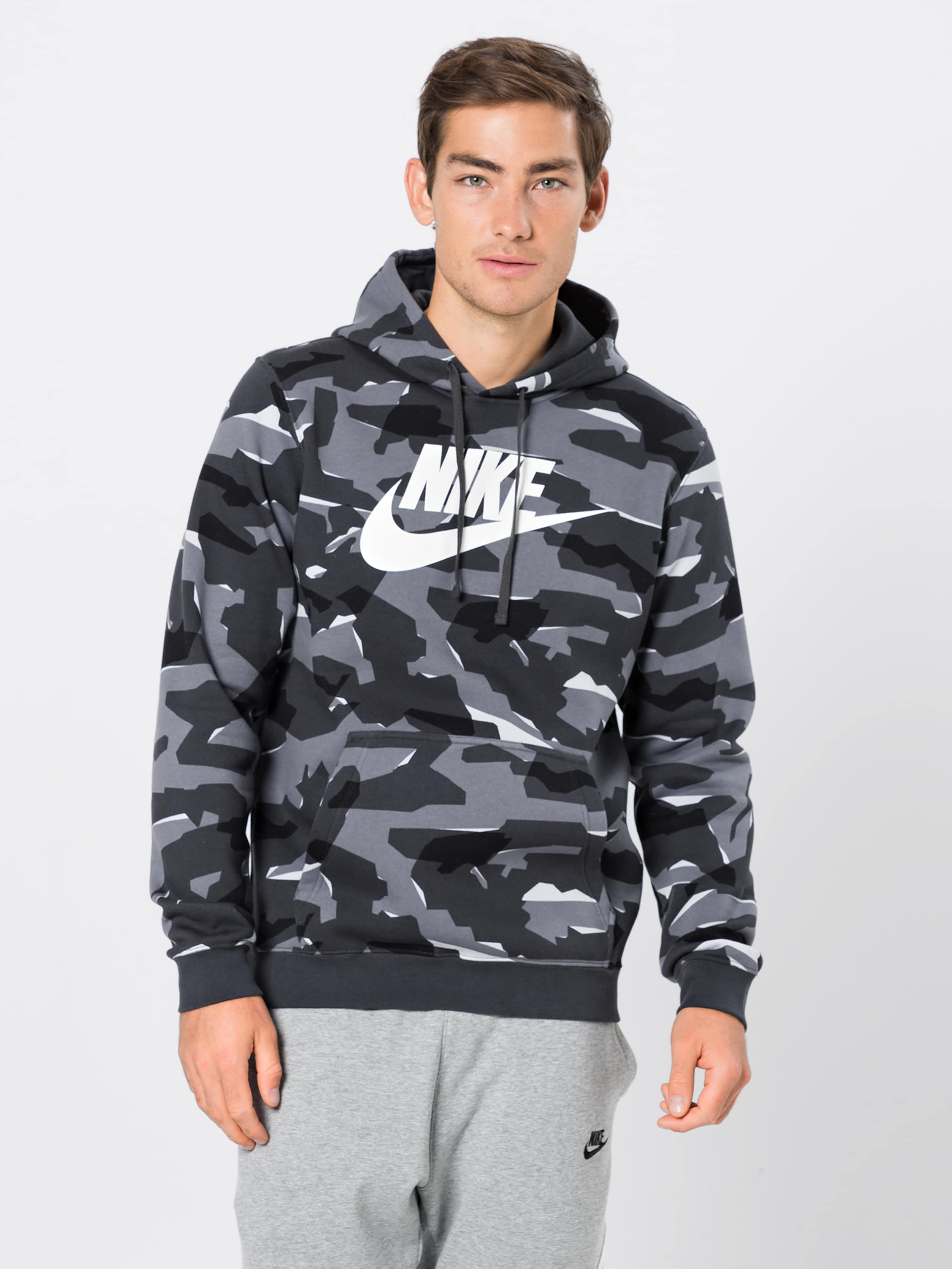 shirt Sweat Sportswear En Nike GrisNoir sQthdCr