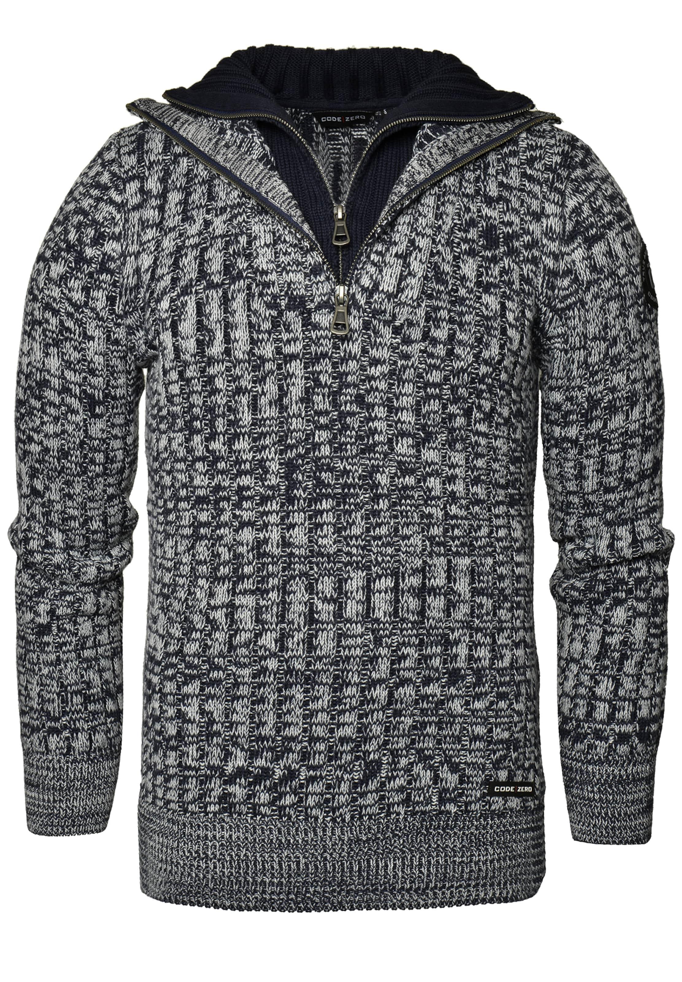 Graumeliert 'vang' zero Sweatshirt Code In l1FcTKJ3