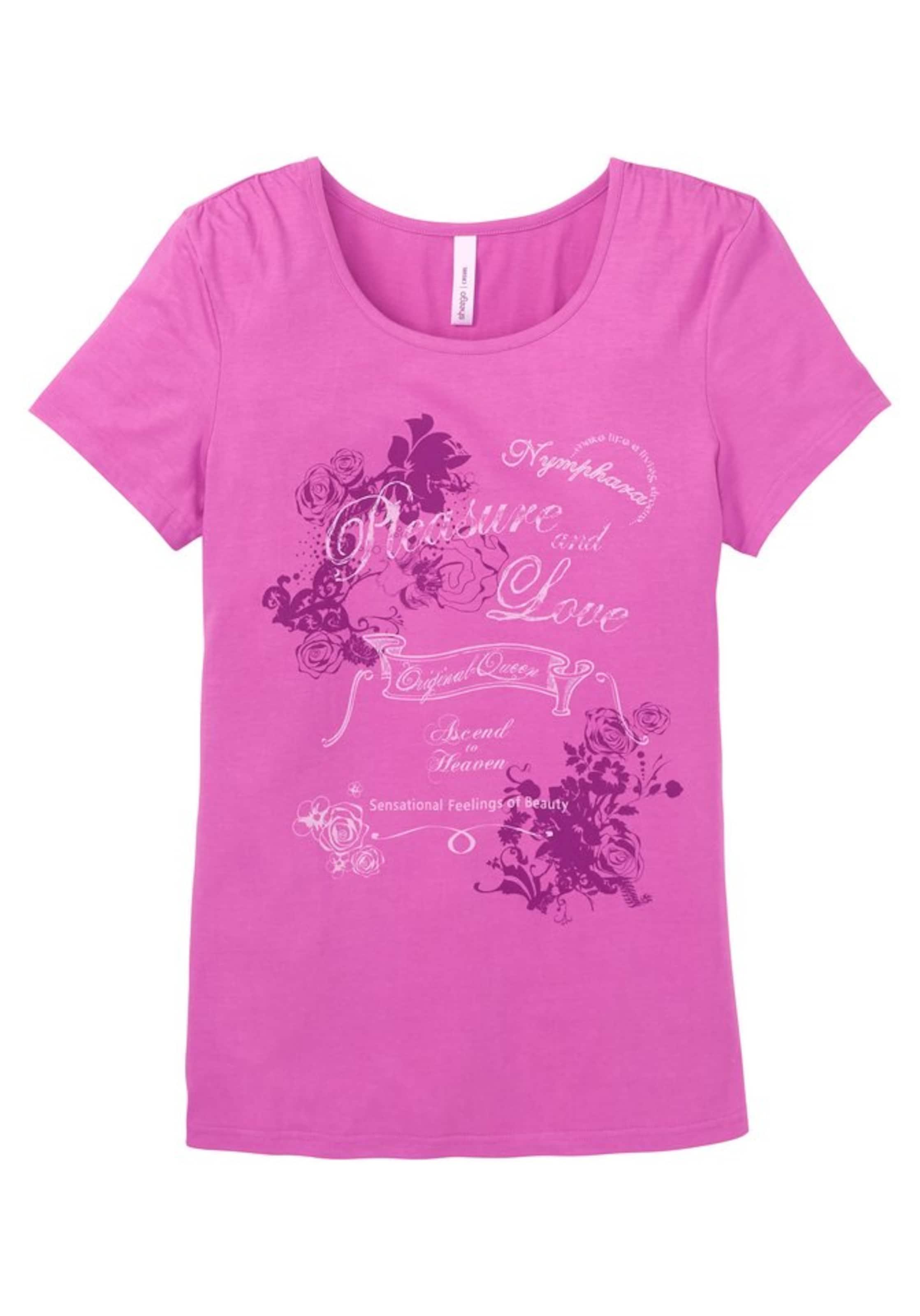 T BeigeBeere Sheego shirt Casual In Pink zGMVqUpS