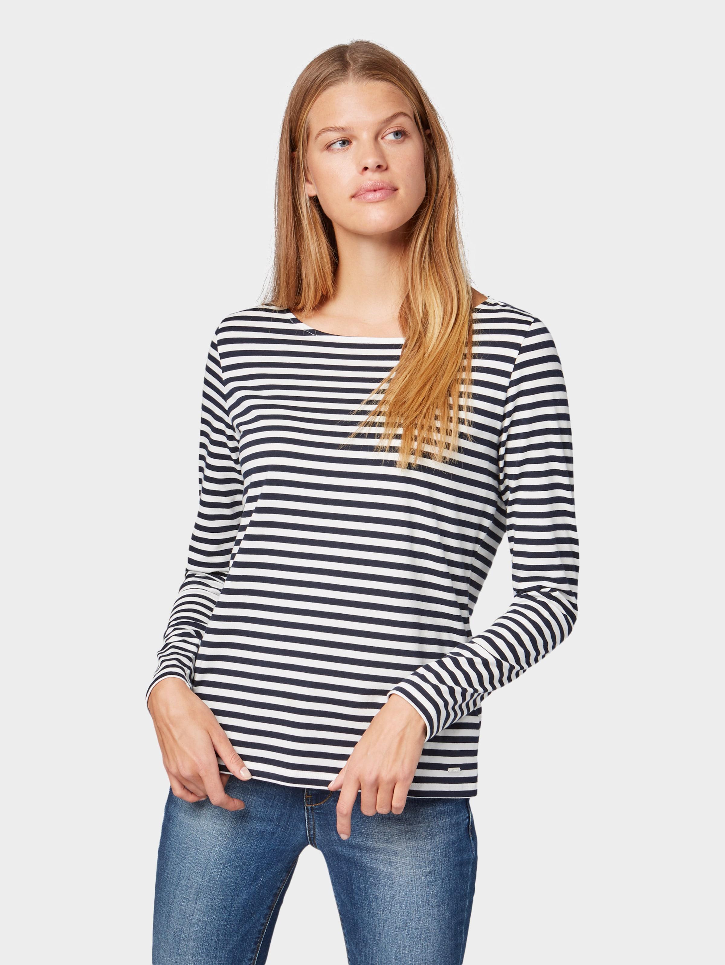 Blanc Tailor En BleuRouge Denim T shirt Tom pzVSMU